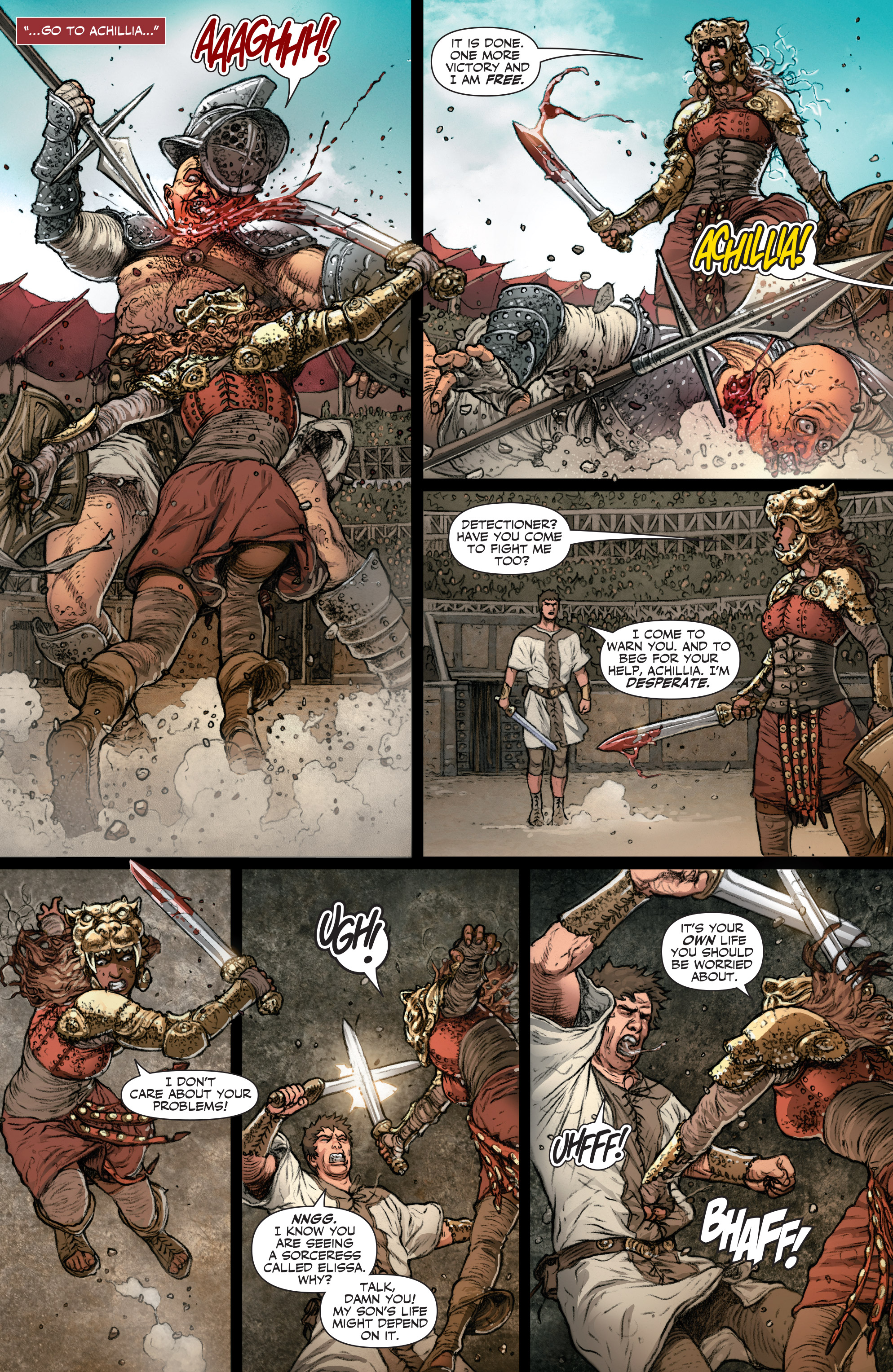 Read online Britannia: We Who Are About To Die comic -  Issue #2 - 20
