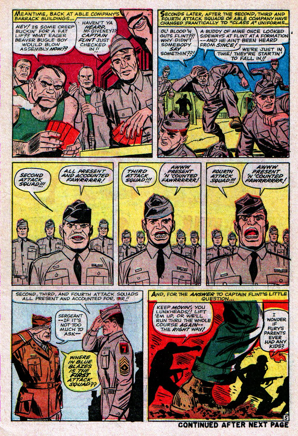 Read online Sgt. Fury comic -  Issue #11 - 7