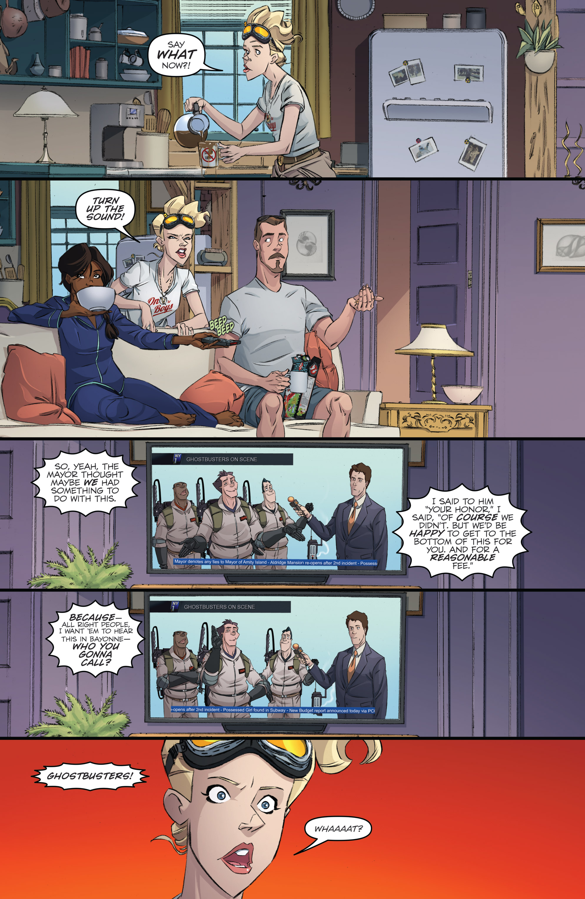 Read online Ghostbusters 101 comic -  Issue #3 - 10