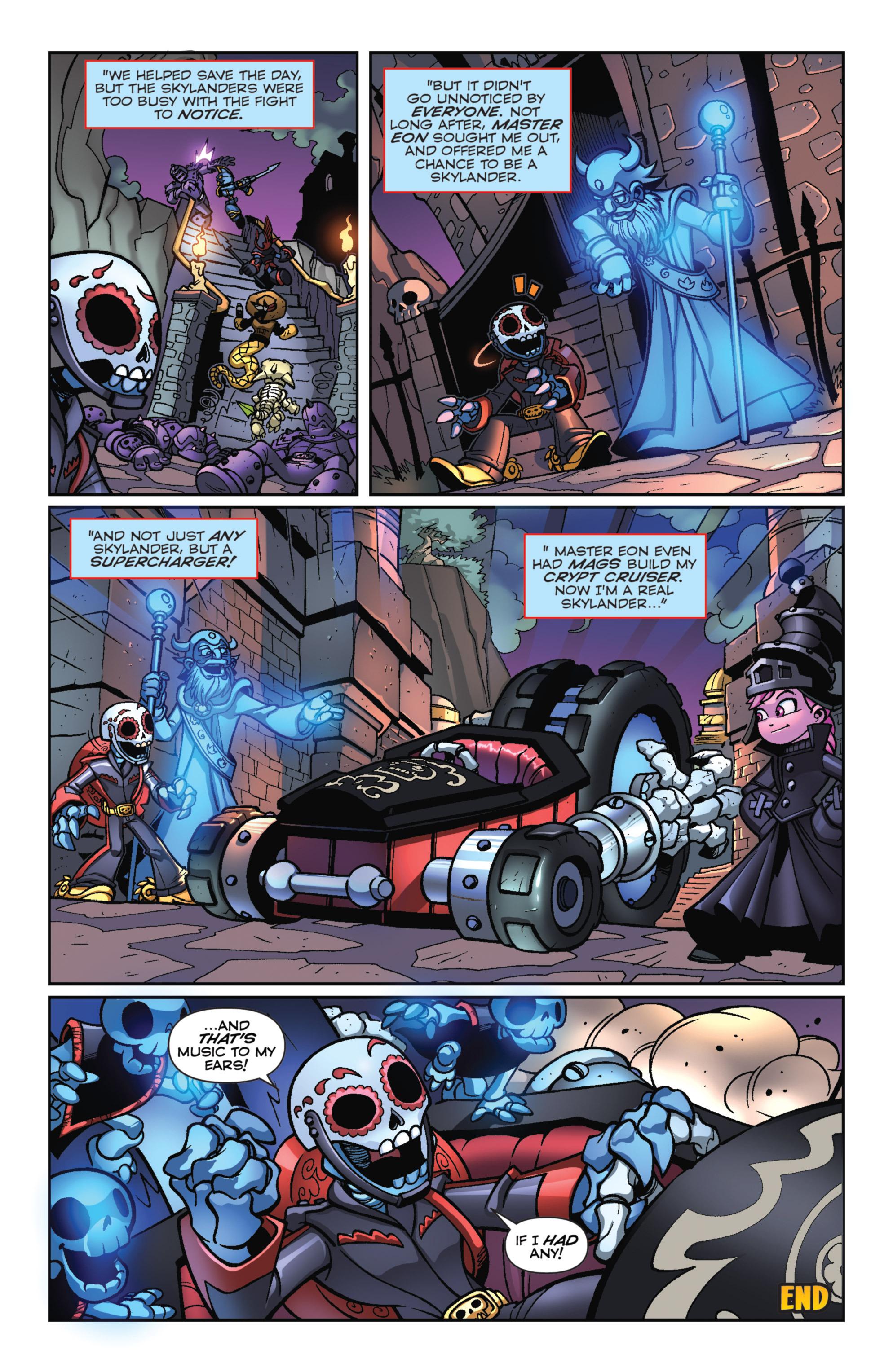 Read online Skylanders Superchargers comic -  Issue #3 - 21