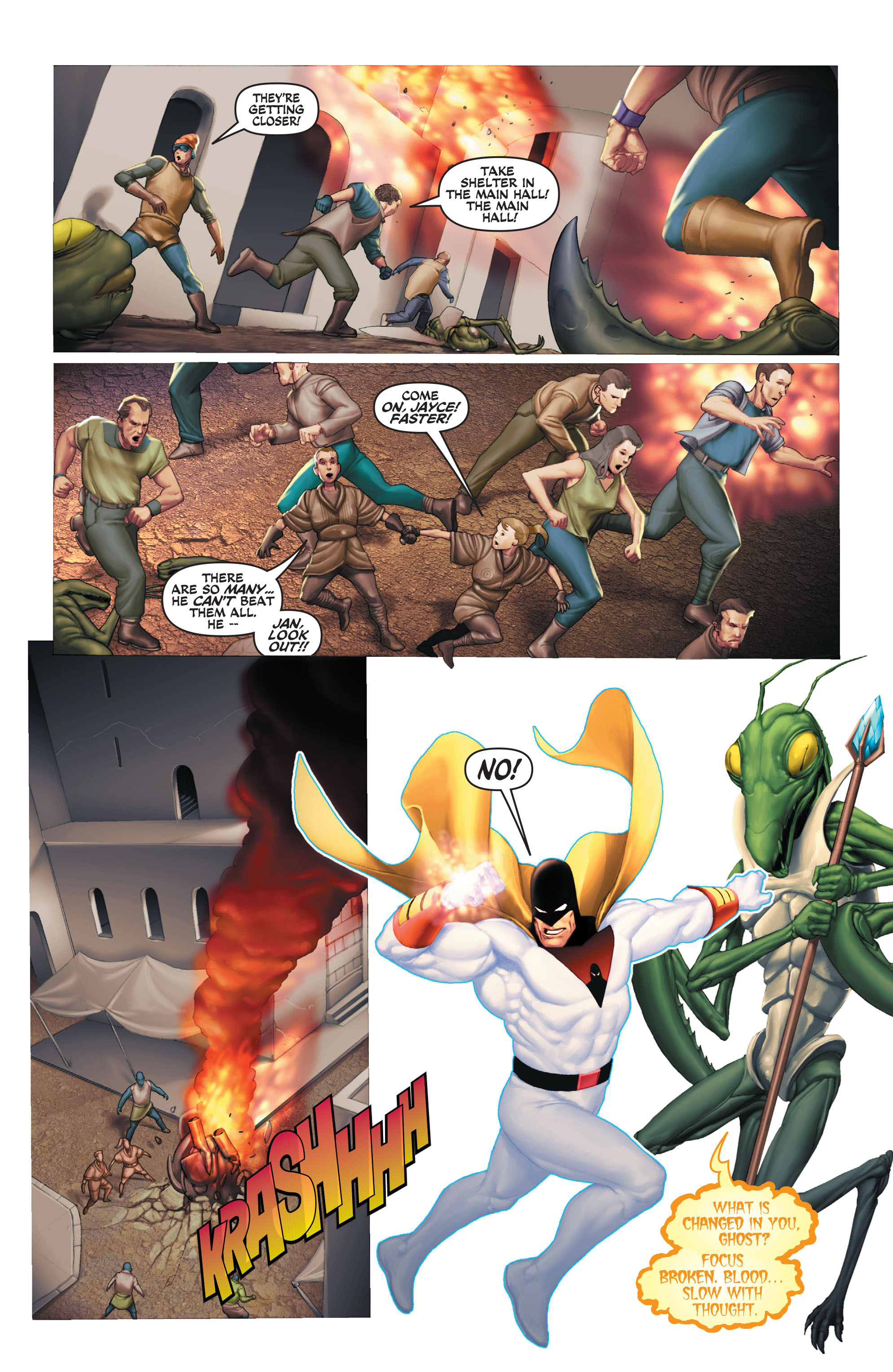 Read online Space Ghost (2016) comic -  Issue # Full - 118