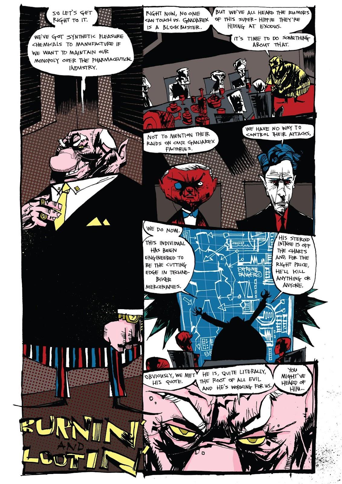 Read online Marijuanaman comic -  Issue # Full - 6