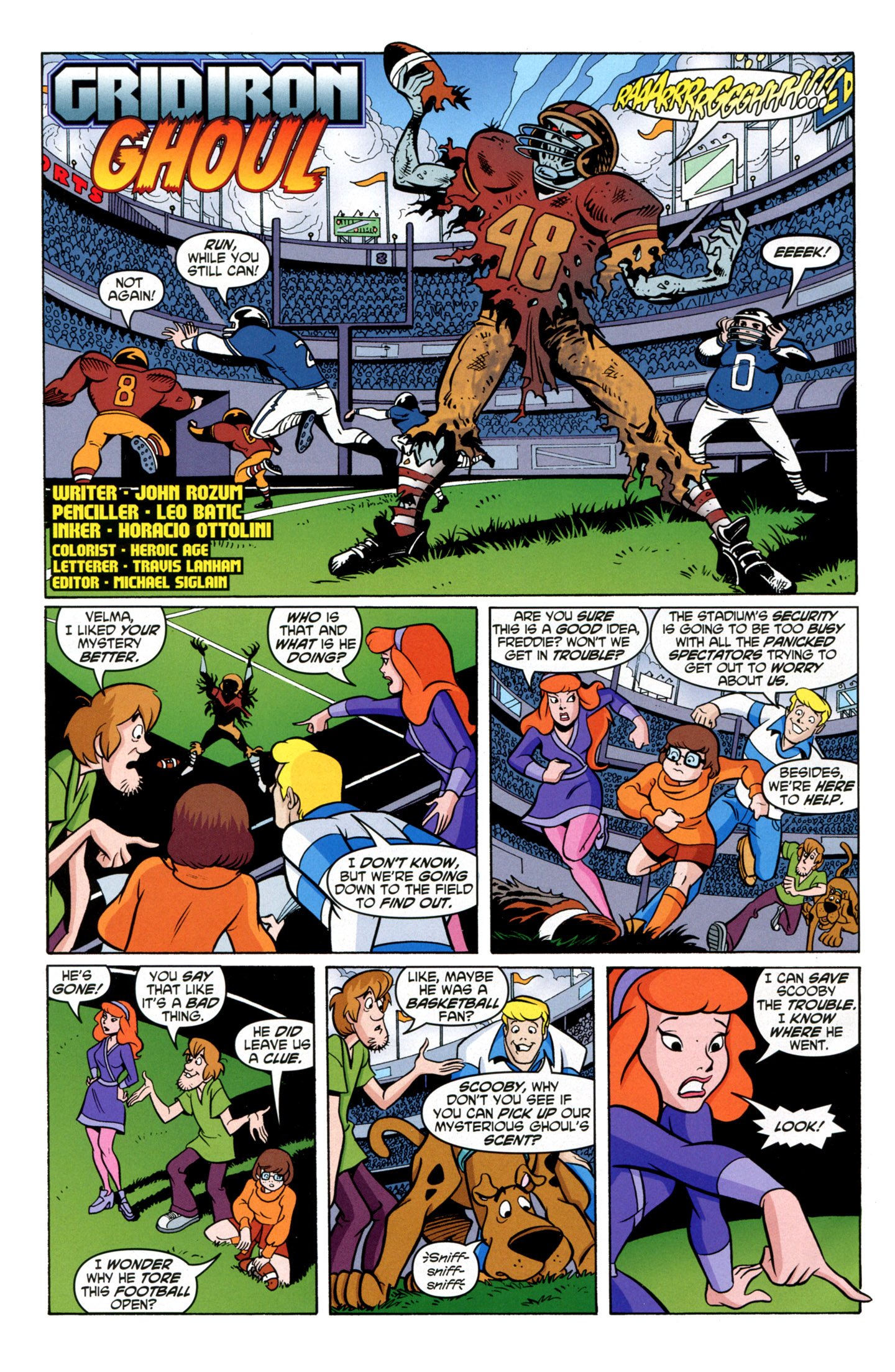 Read online Scooby-Doo: Where Are You? comic -  Issue #21 - 18