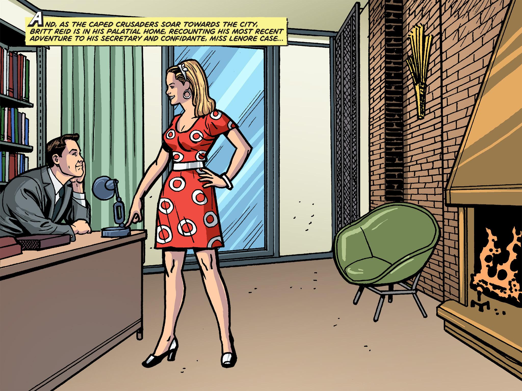 Read online Batman '66 Meets the Green Hornet [II] comic -  Issue #4 - 38