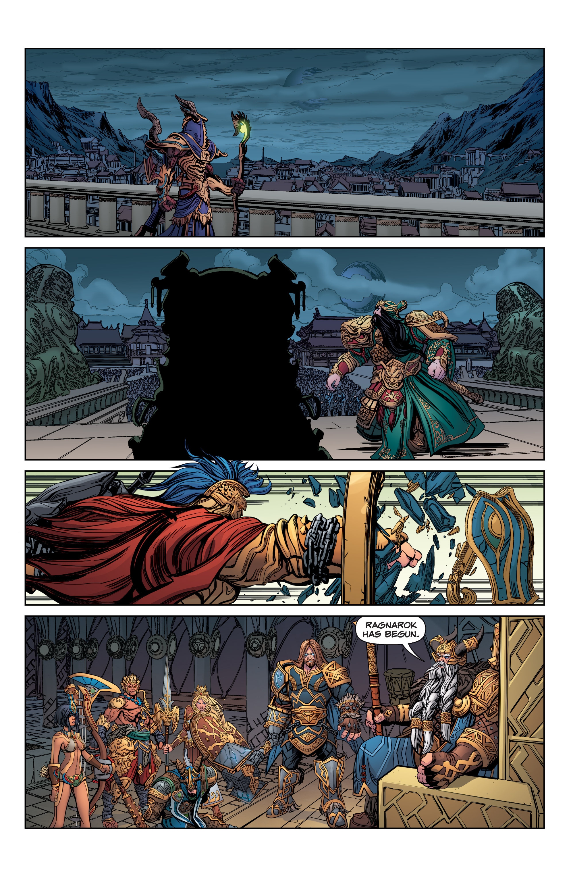 Read online SMITE: The Pantheon War comic -  Issue #3 - 22