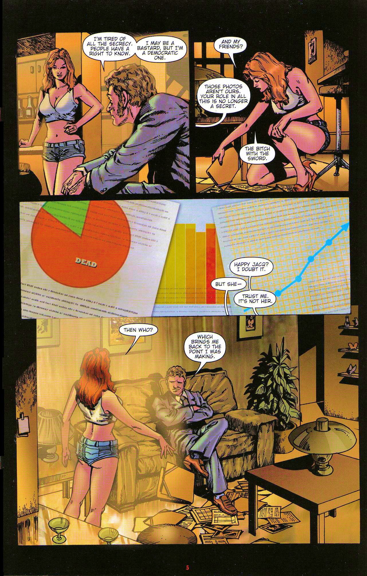 Read online Dominatrix comic -  Issue #5 - 7