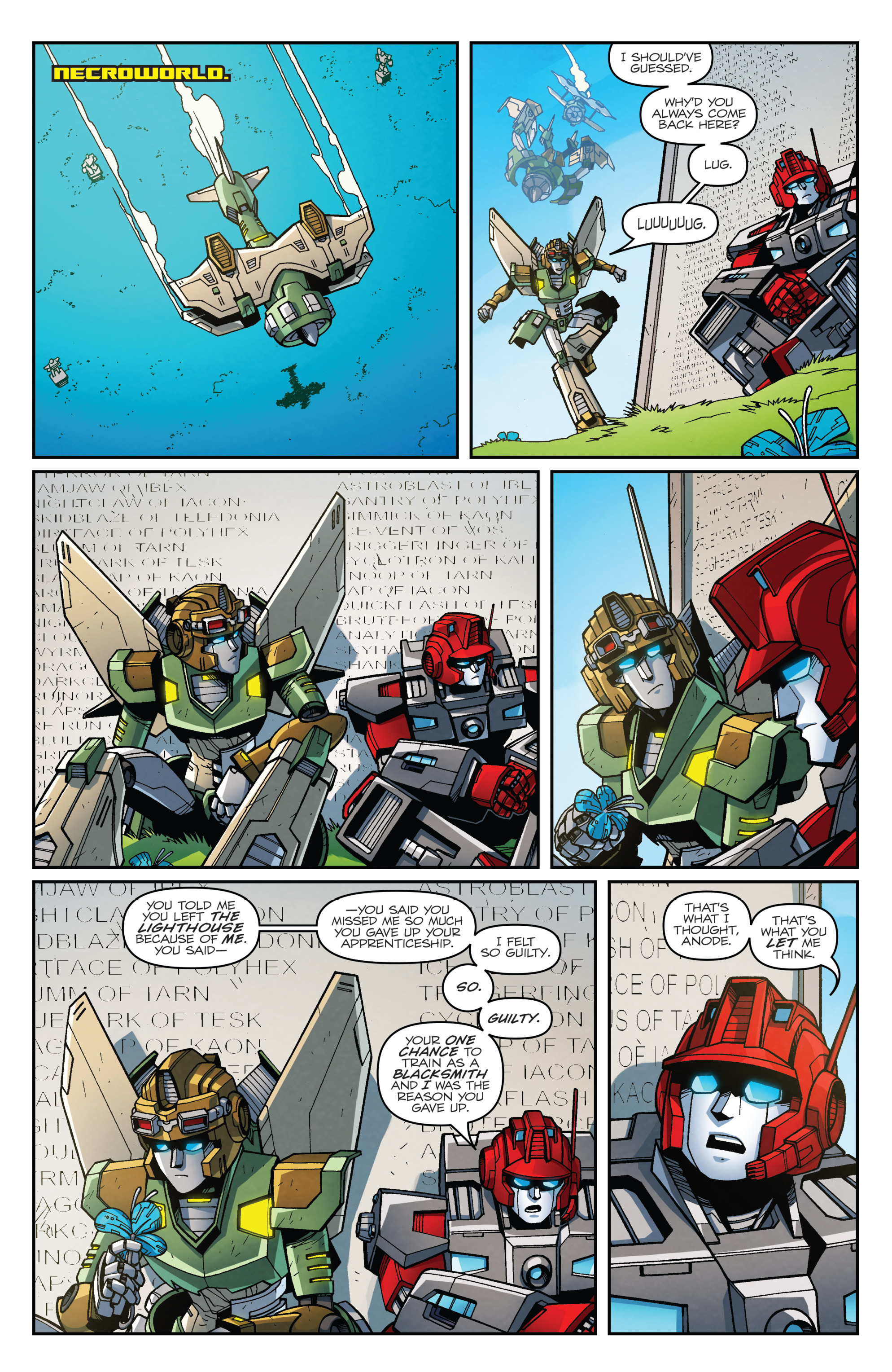 Read online Transformers: Lost Light comic -  Issue #4 - 11