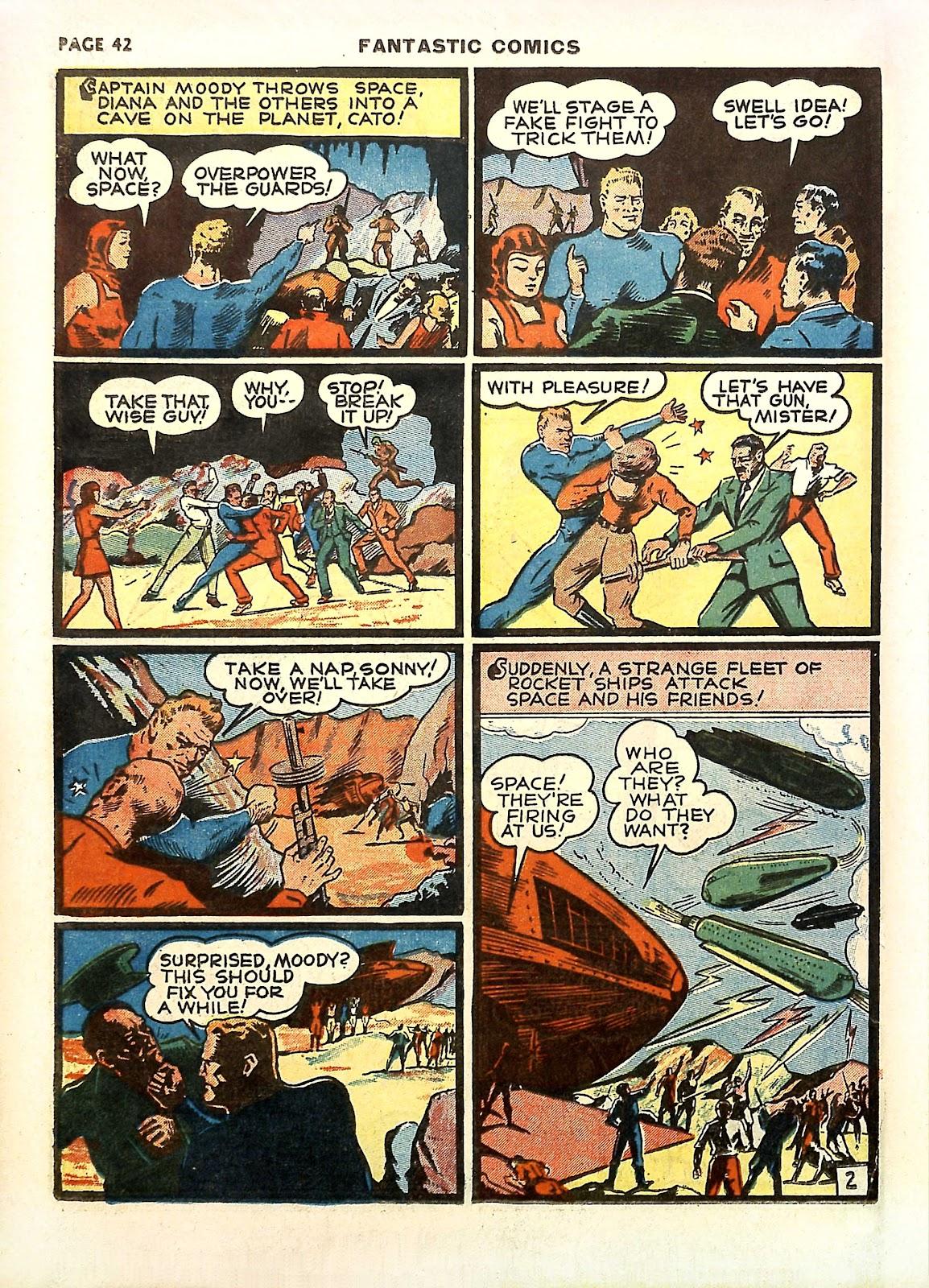 Read online Fantastic Comics comic -  Issue #11 - 45