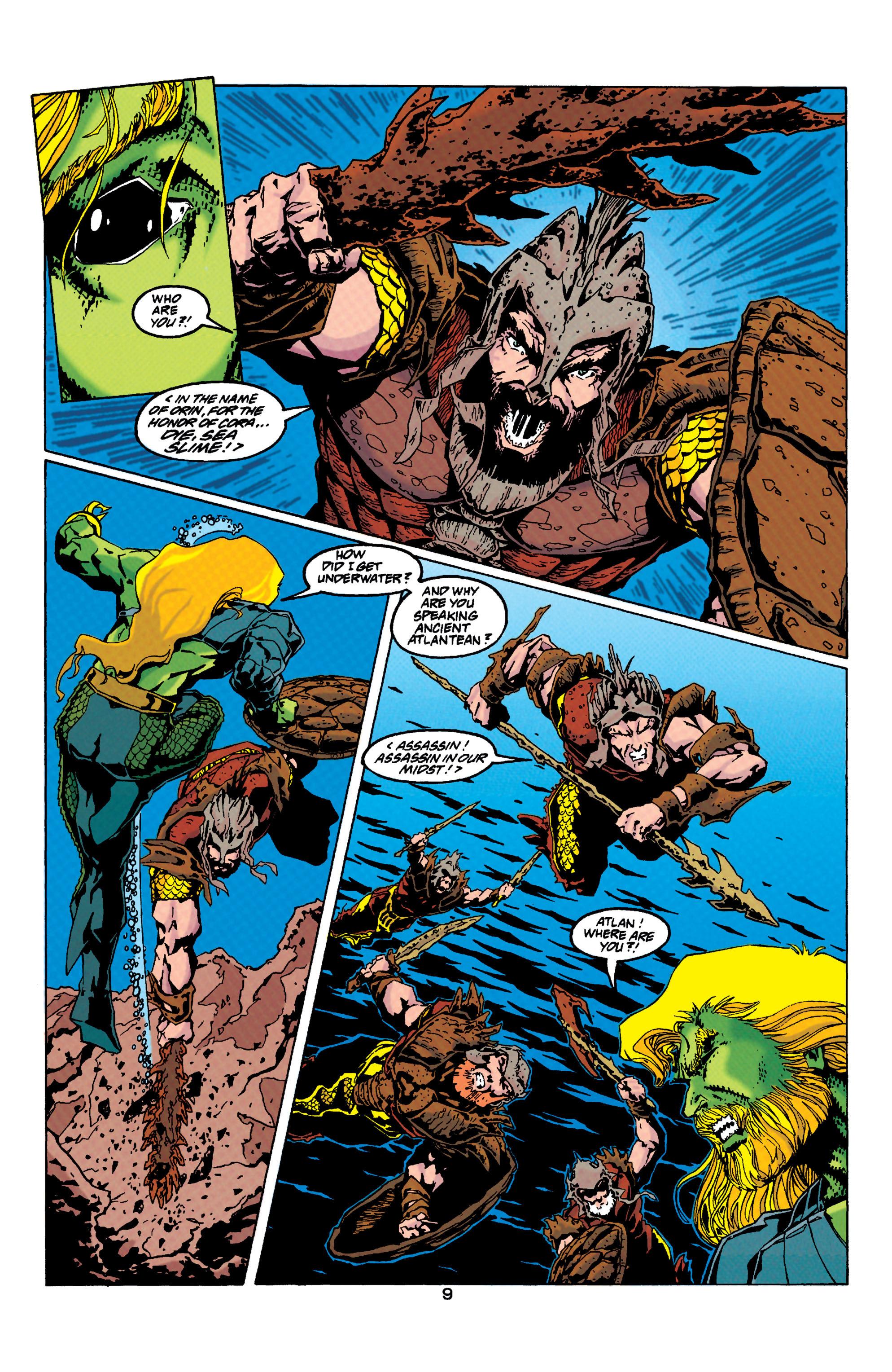 Read online Aquaman (1994) comic -  Issue #33 - 9