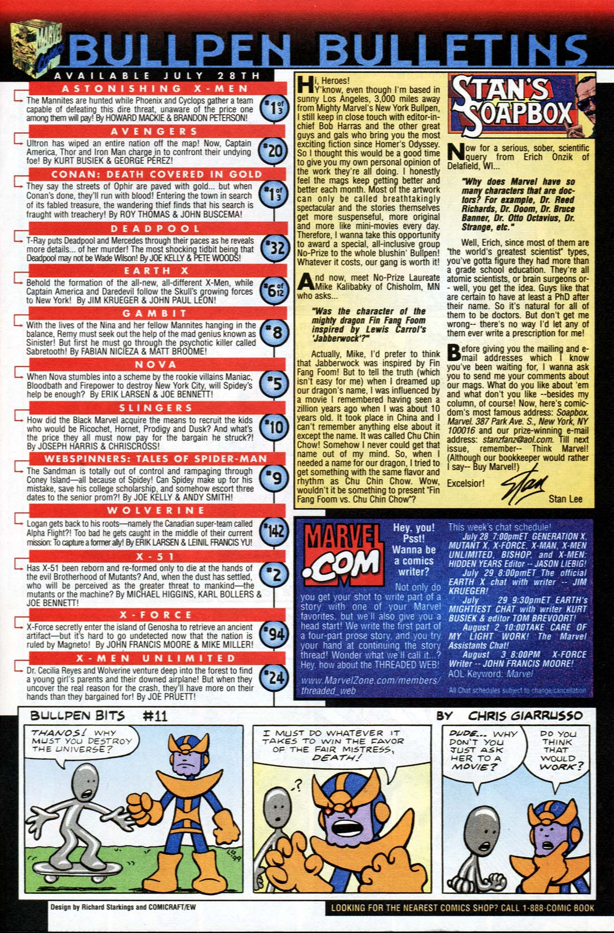 Read online A-Next comic -  Issue #12 - 23