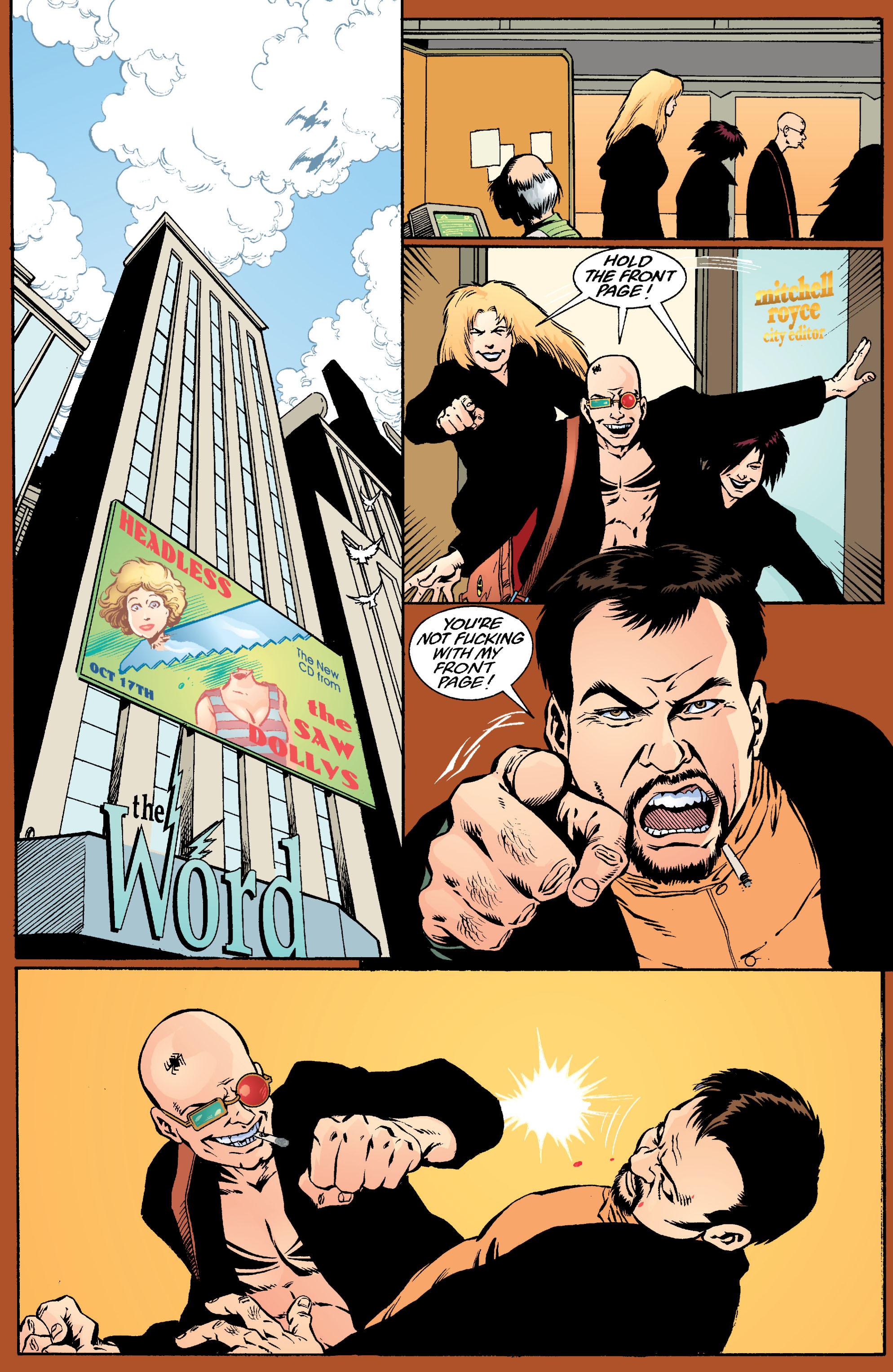 Read online Transmetropolitan comic -  Issue #18 - 18