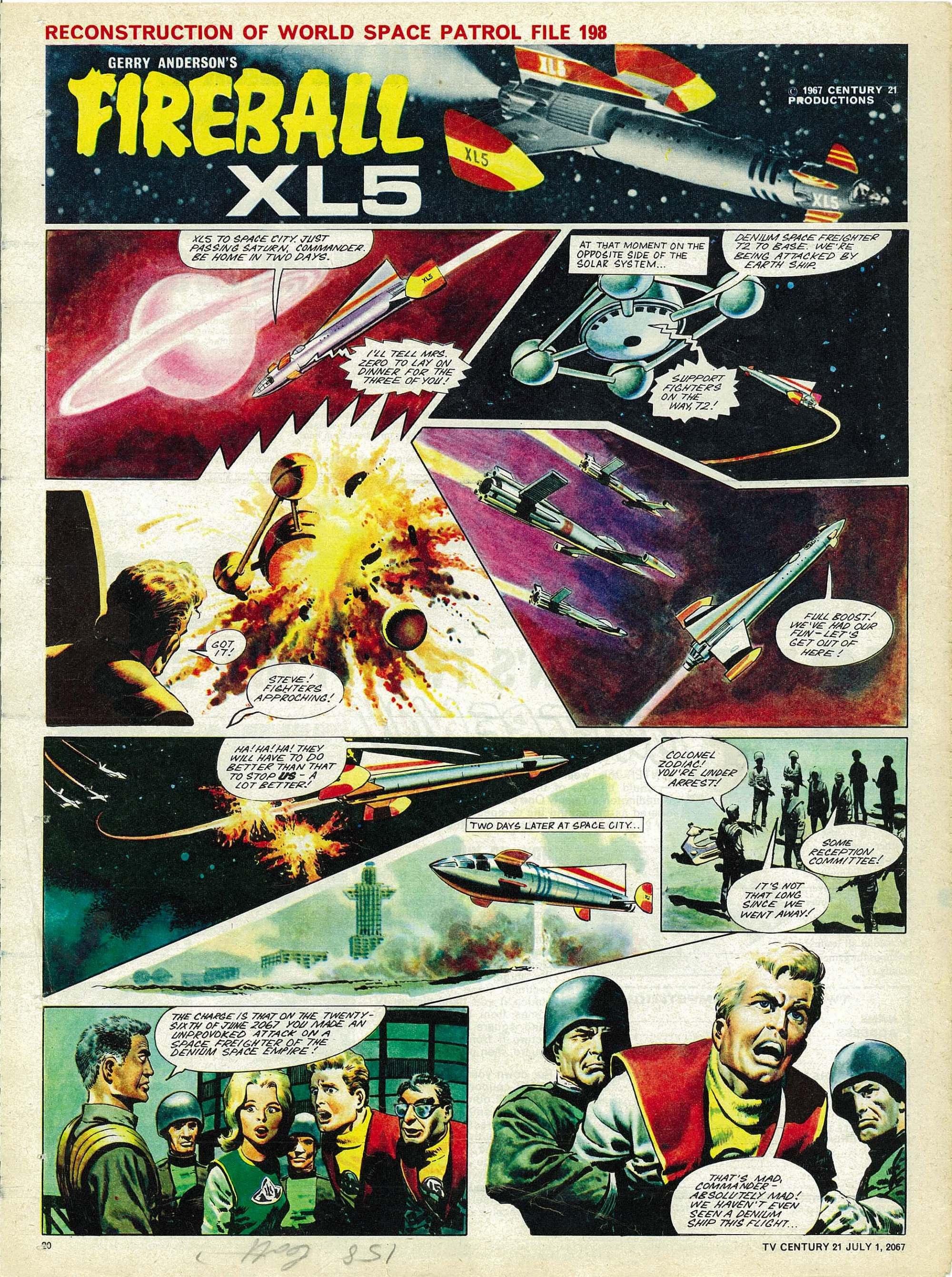 Read online TV Century 21 (TV 21) comic -  Issue #128 - 19