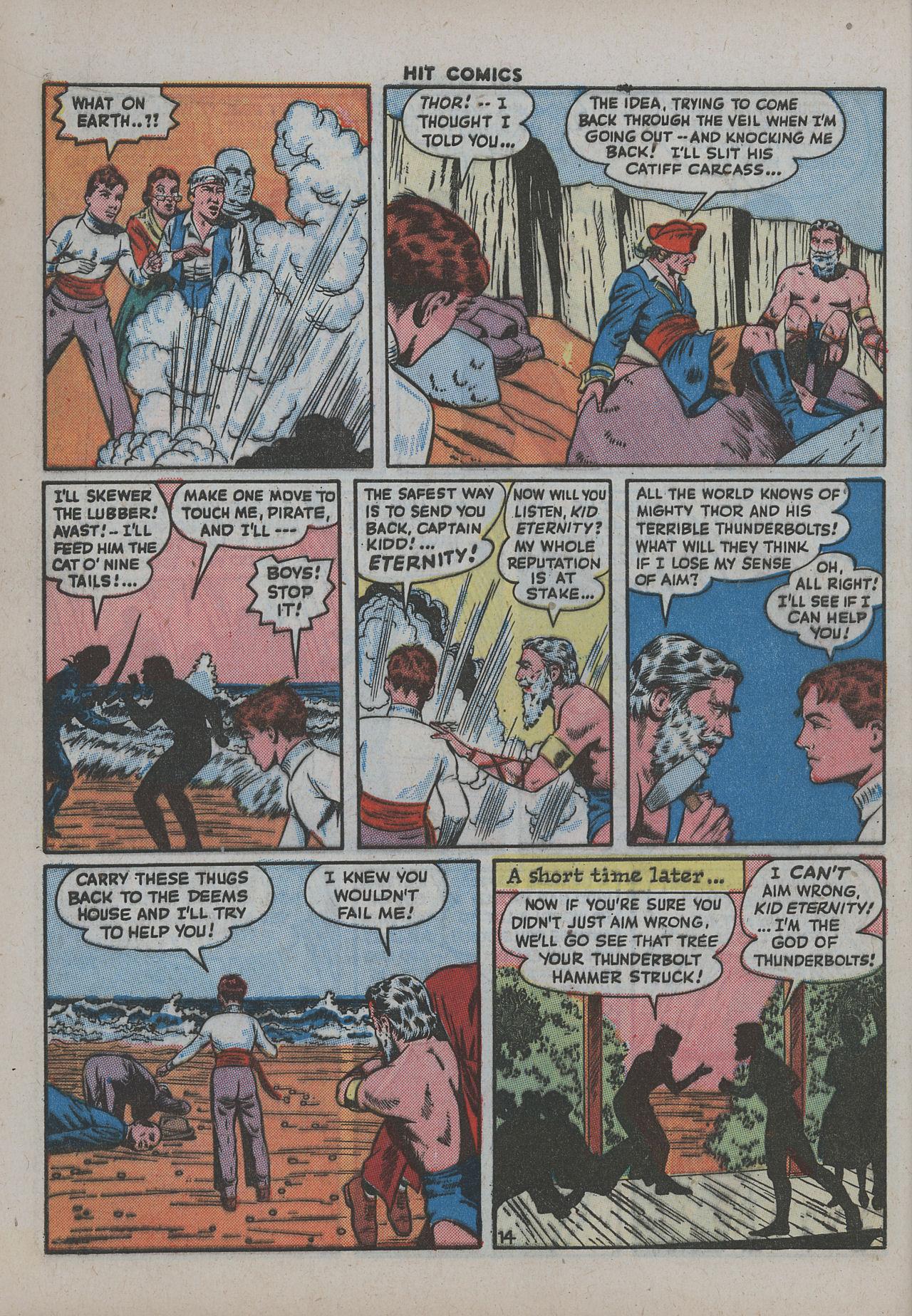 Read online Hit Comics comic -  Issue #38 - 19