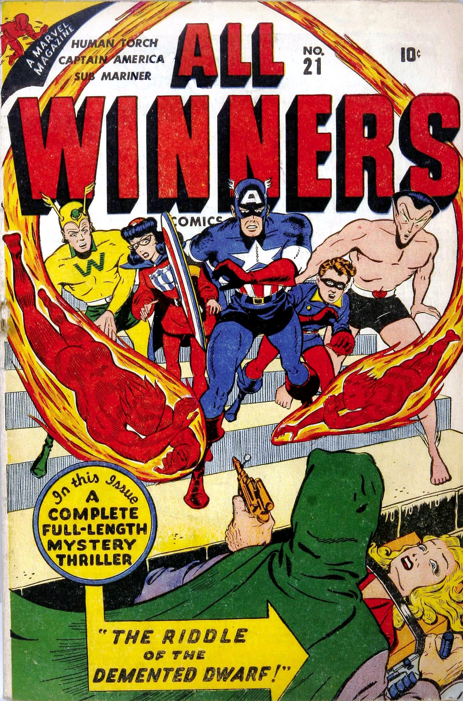 All-Winners Comics 21 Page 1