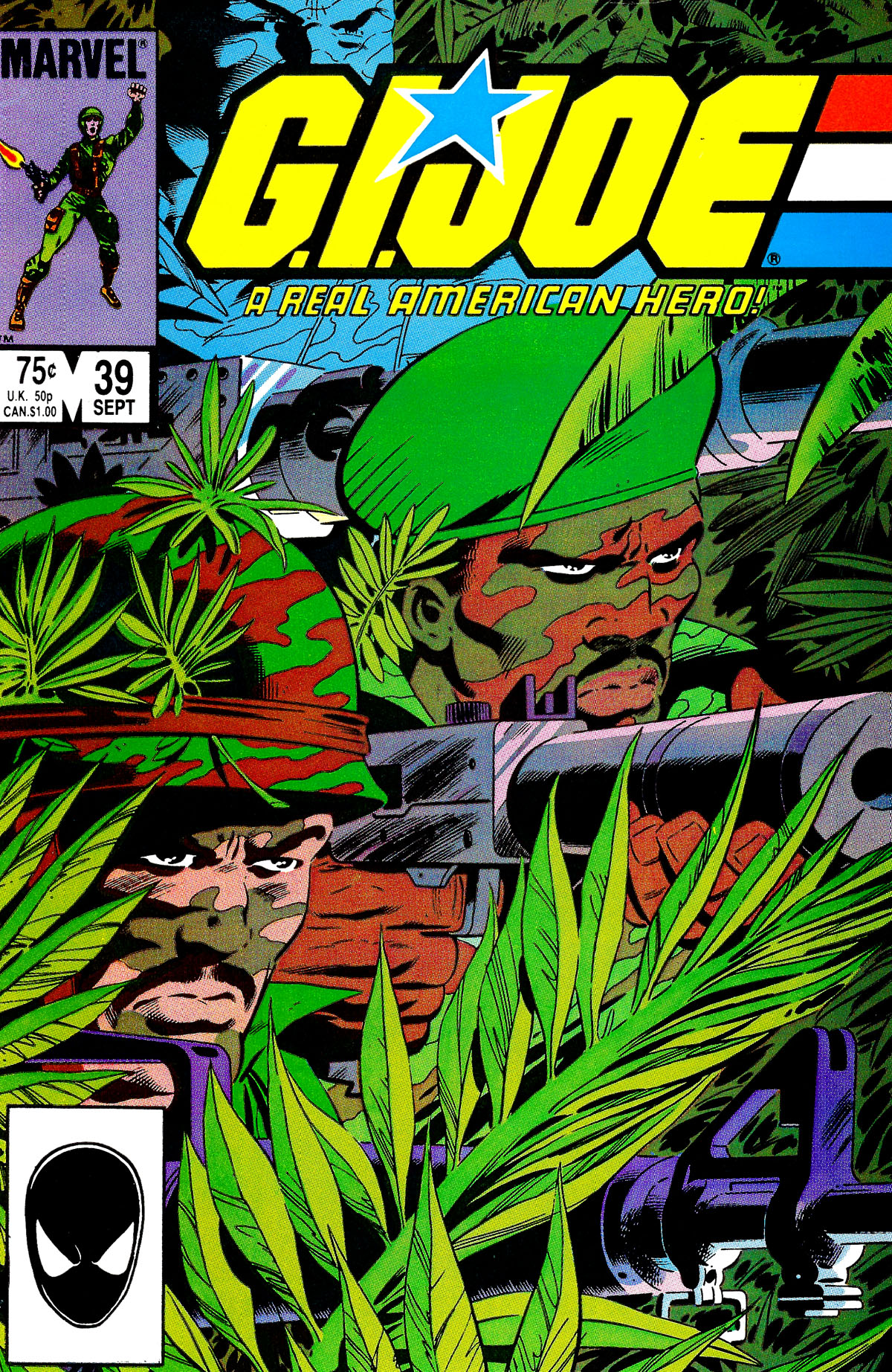 G.I. Joe: A Real American Hero 39 Page 1
