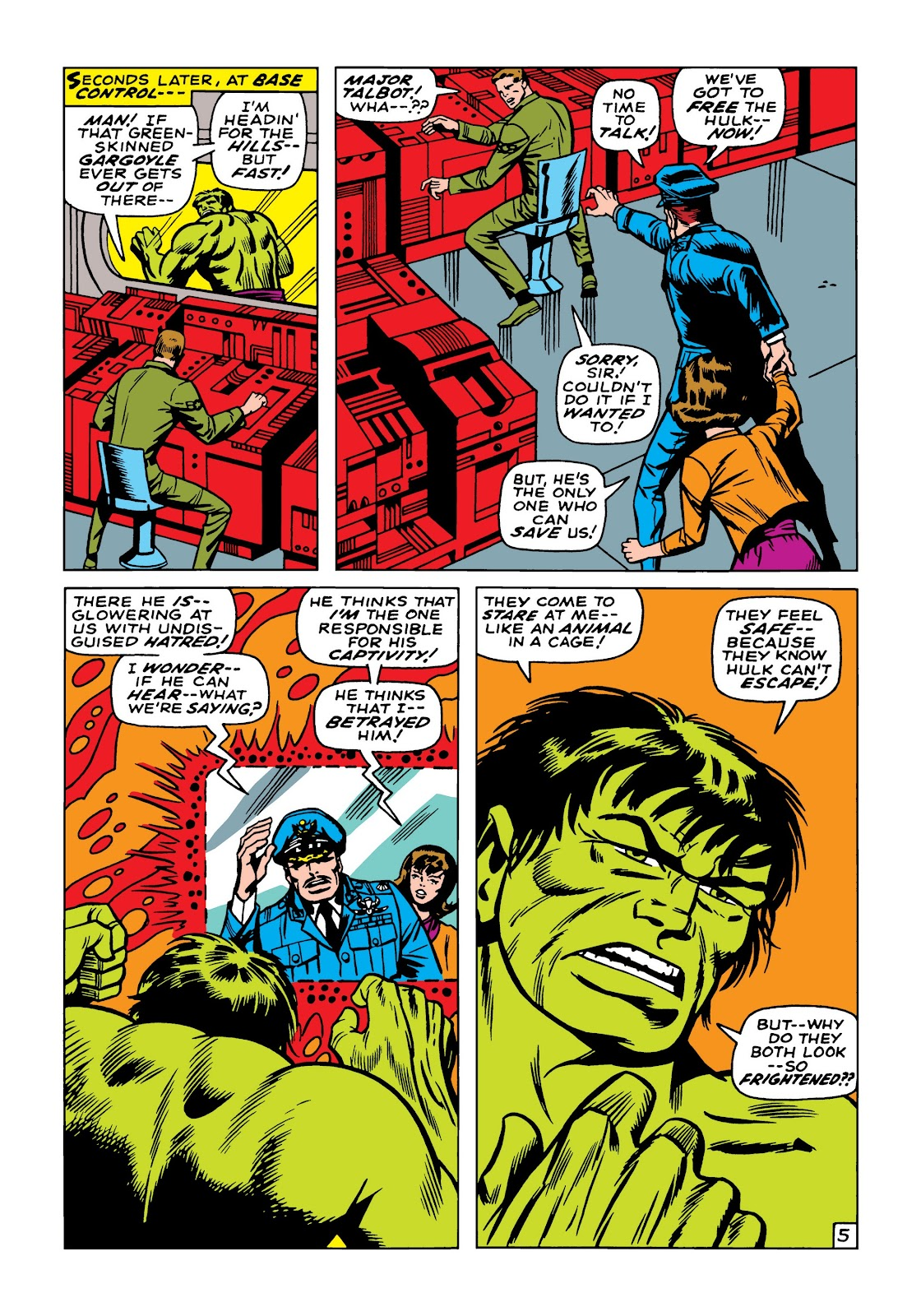 Read online Marvel Masterworks: The Incredible Hulk comic -  Issue # TPB 5 (Part 2) - 16