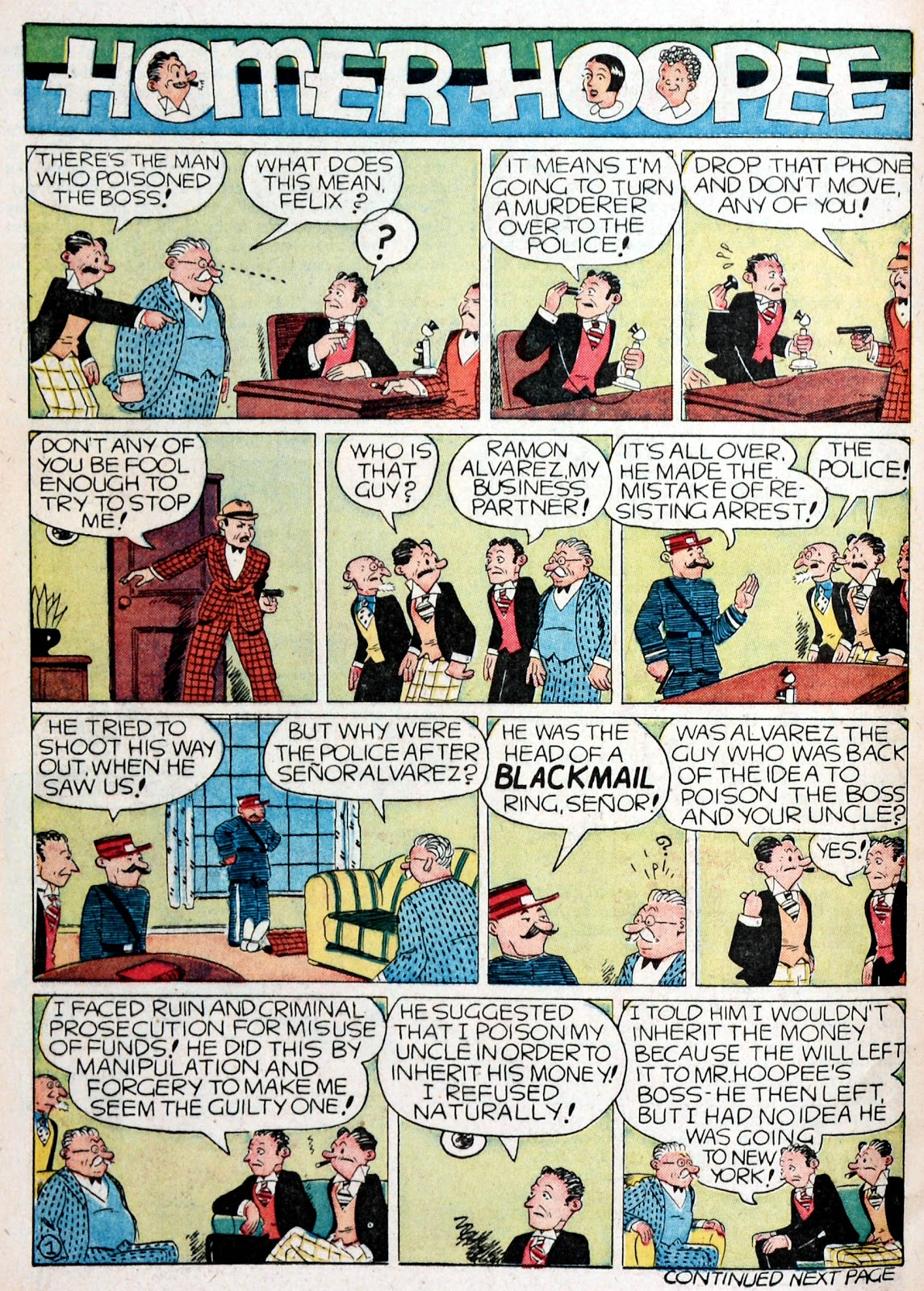 Read online Famous Funnies comic -  Issue #76 - 60