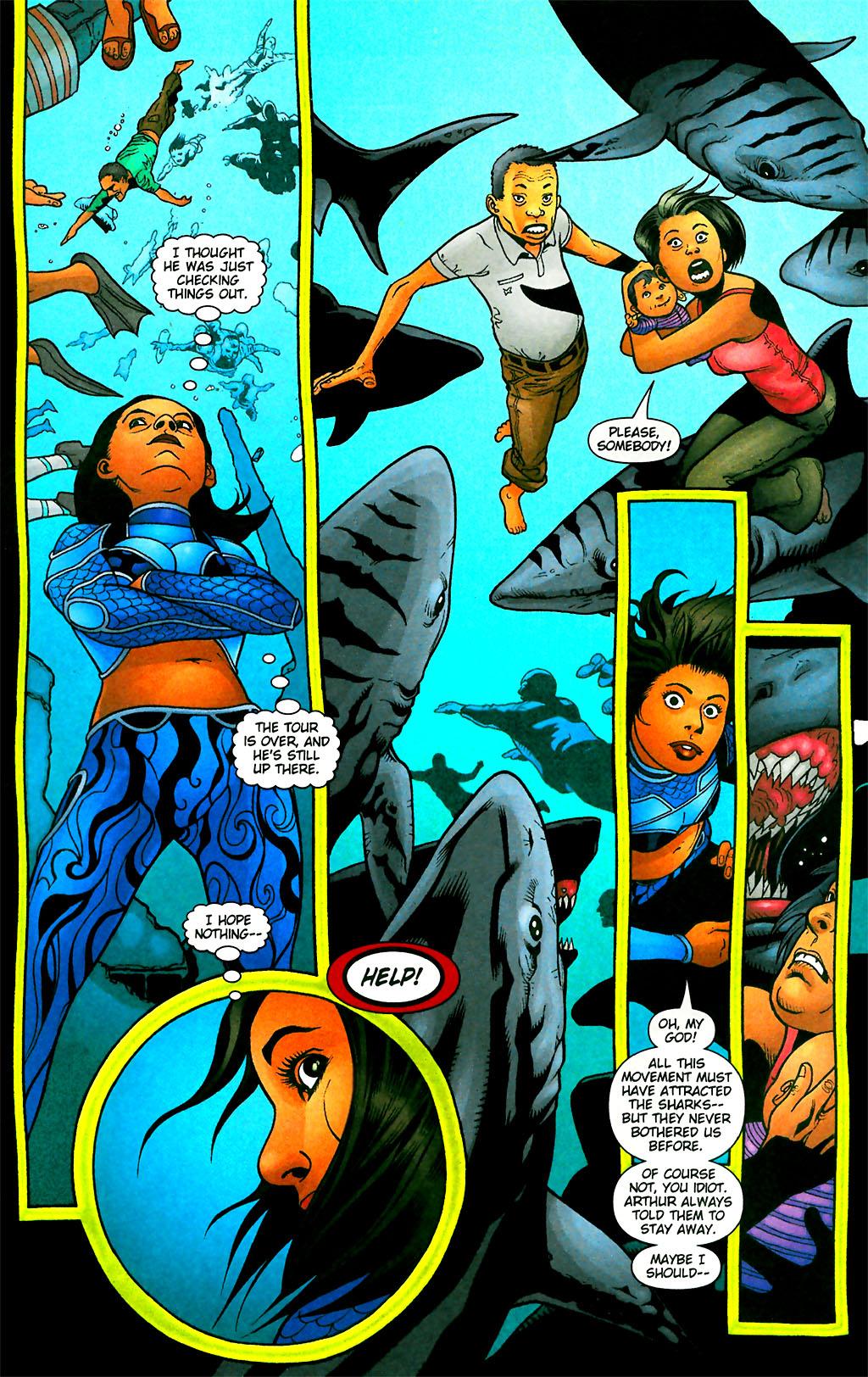 Read online Aquaman (2003) comic -  Issue #28 - 11