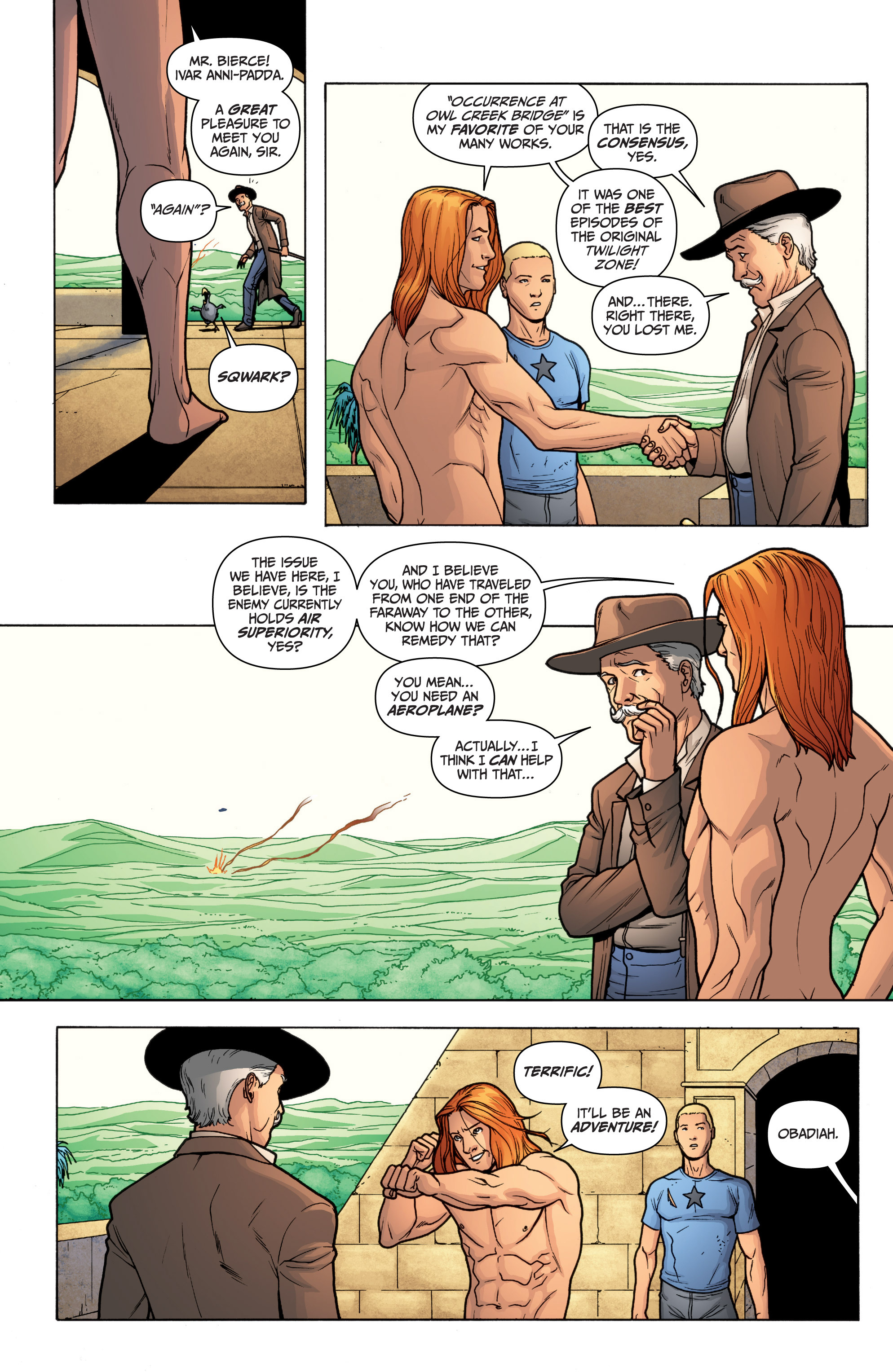 Read online Archer and Armstrong comic -  Issue #12 - 21