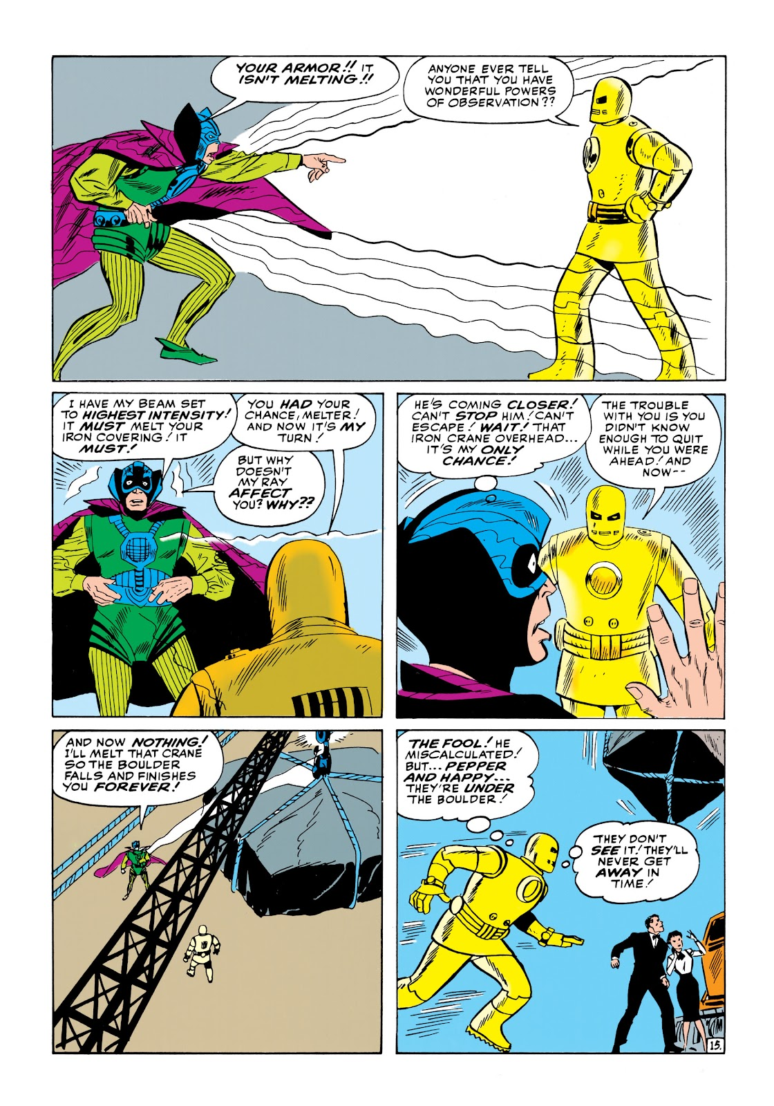 Read online Marvel Masterworks: The Invincible Iron Man comic -  Issue # TPB 1 (Part 2) - 35