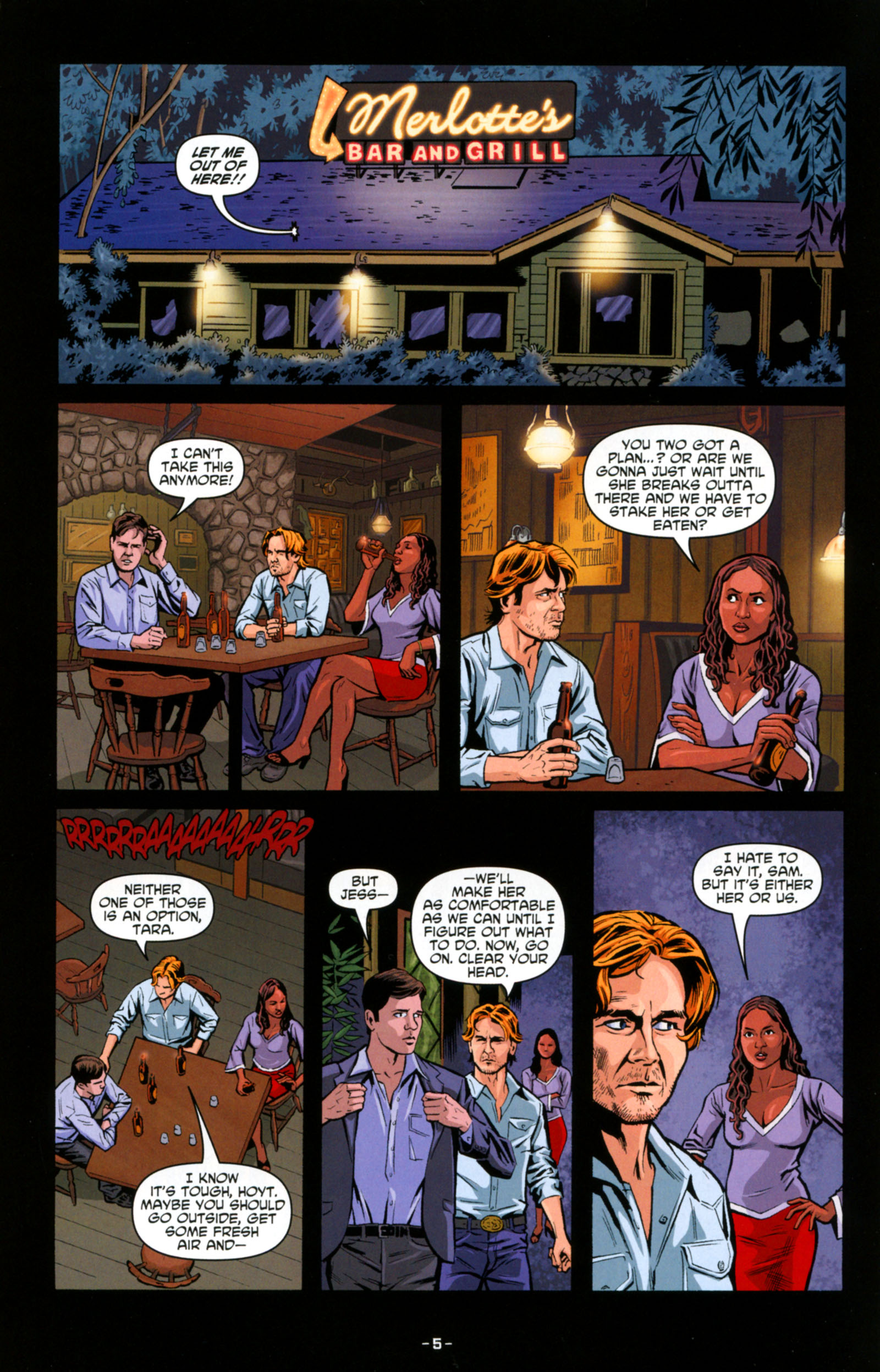 Read online True Blood: Tainted Love comic -  Issue #6 - 7