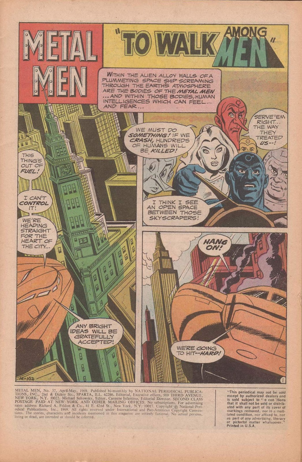 Metal Men (1963) issue 37 - Page 3