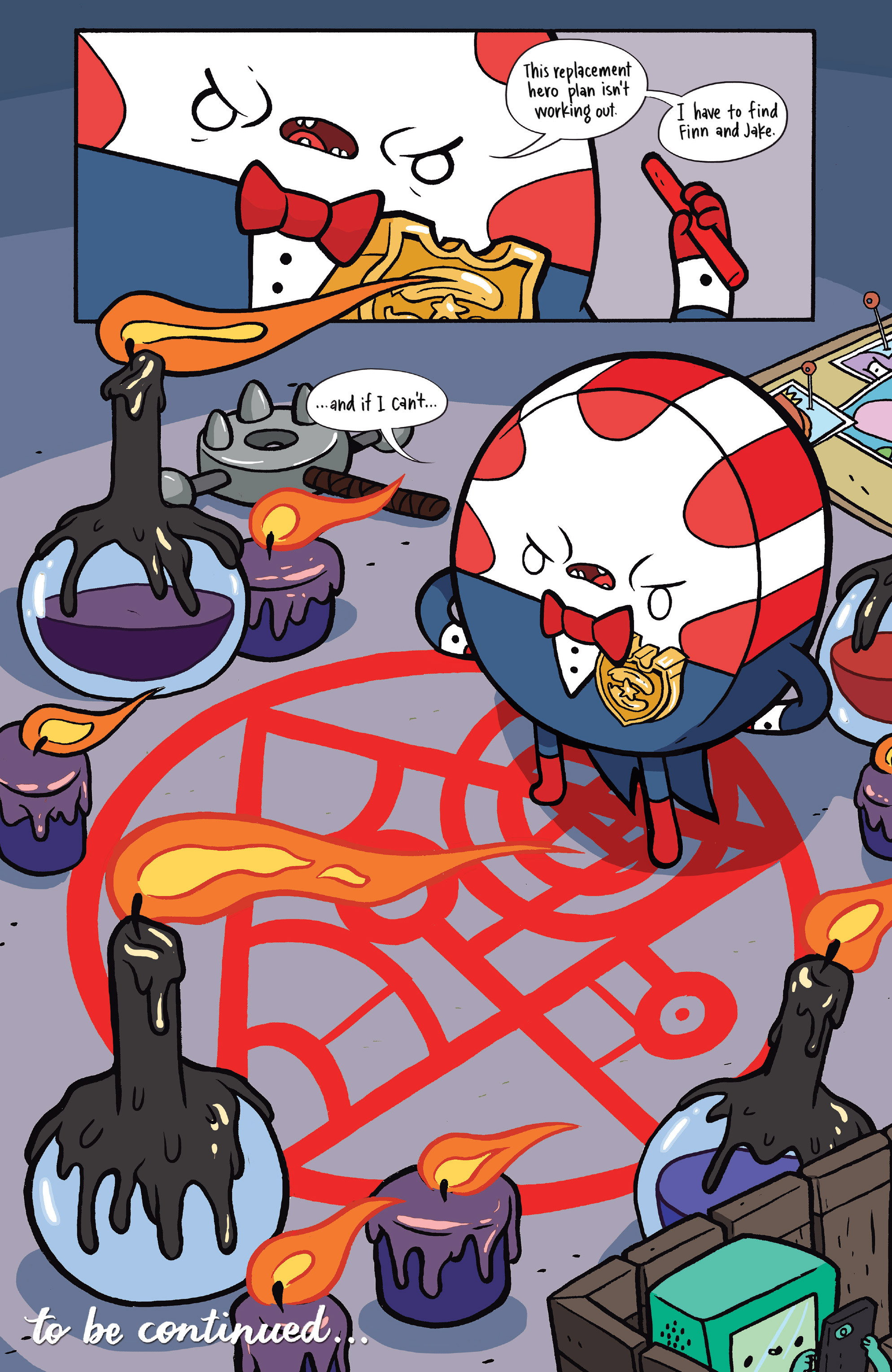 Read online Adventure Time: Candy Capers comic -  Issue #4 - 28