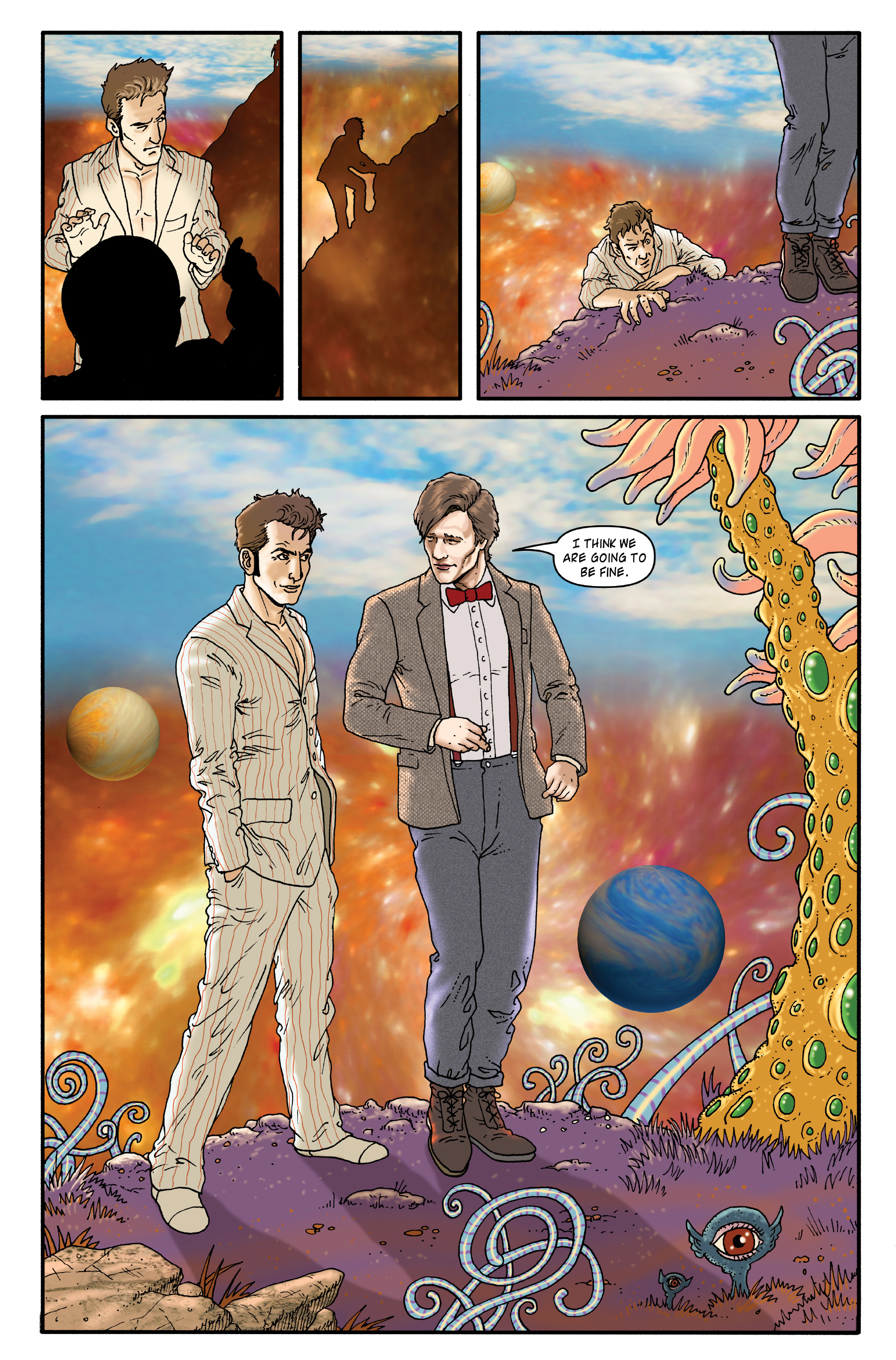 Read online Doctor Who: The Tenth Doctor Archives comic -  Issue #35 - 45