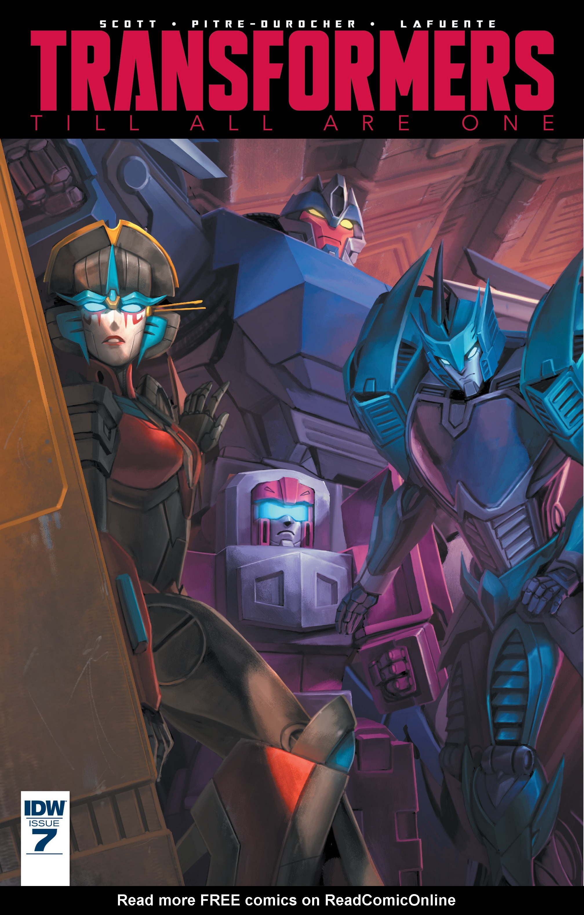 Read online Transformers: Till All Are One comic -  Issue #7 - 1