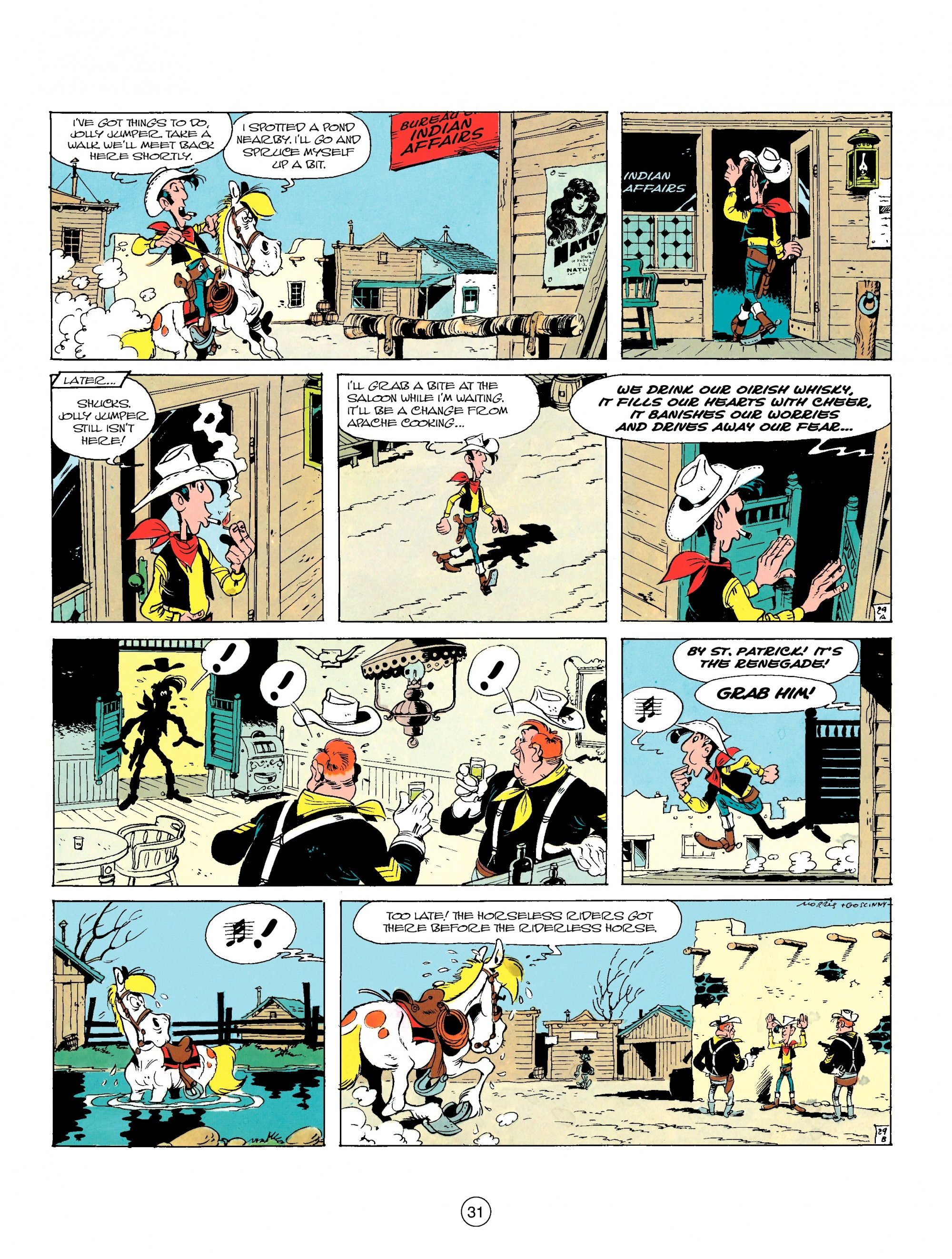 Read online A Lucky Luke Adventure comic -  Issue #17 - 31