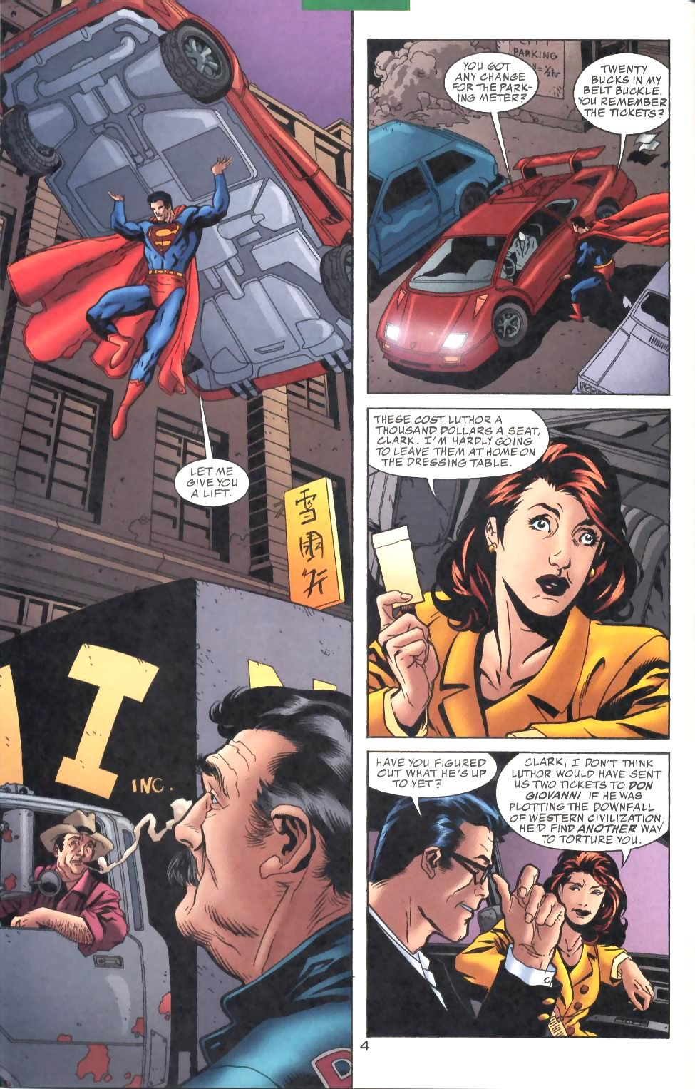 Read online Adventures of Superman (1987) comic -  Issue #575 - 5