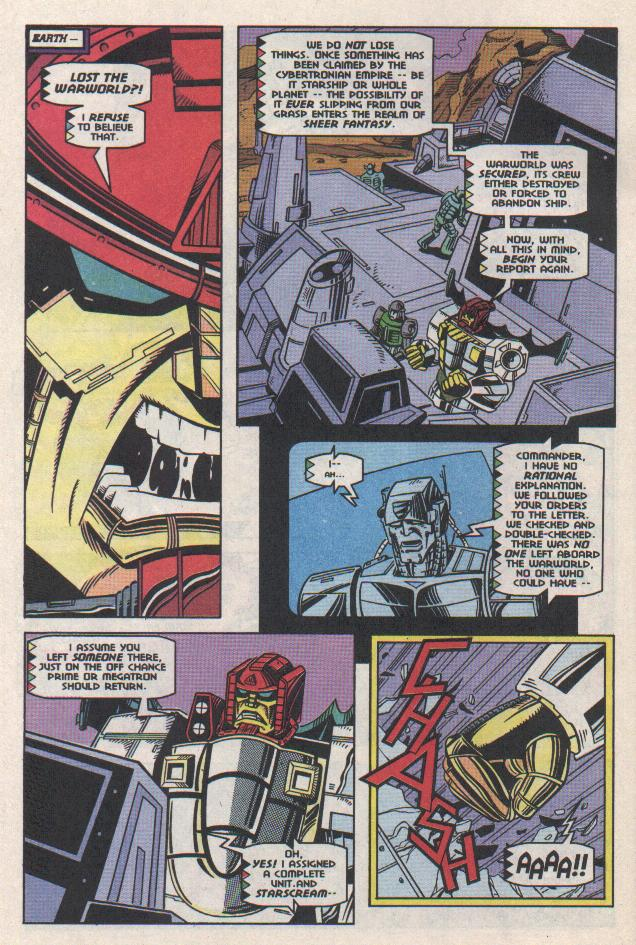 Read online Transformers: Generation 2 comic -  Issue #11 - 5