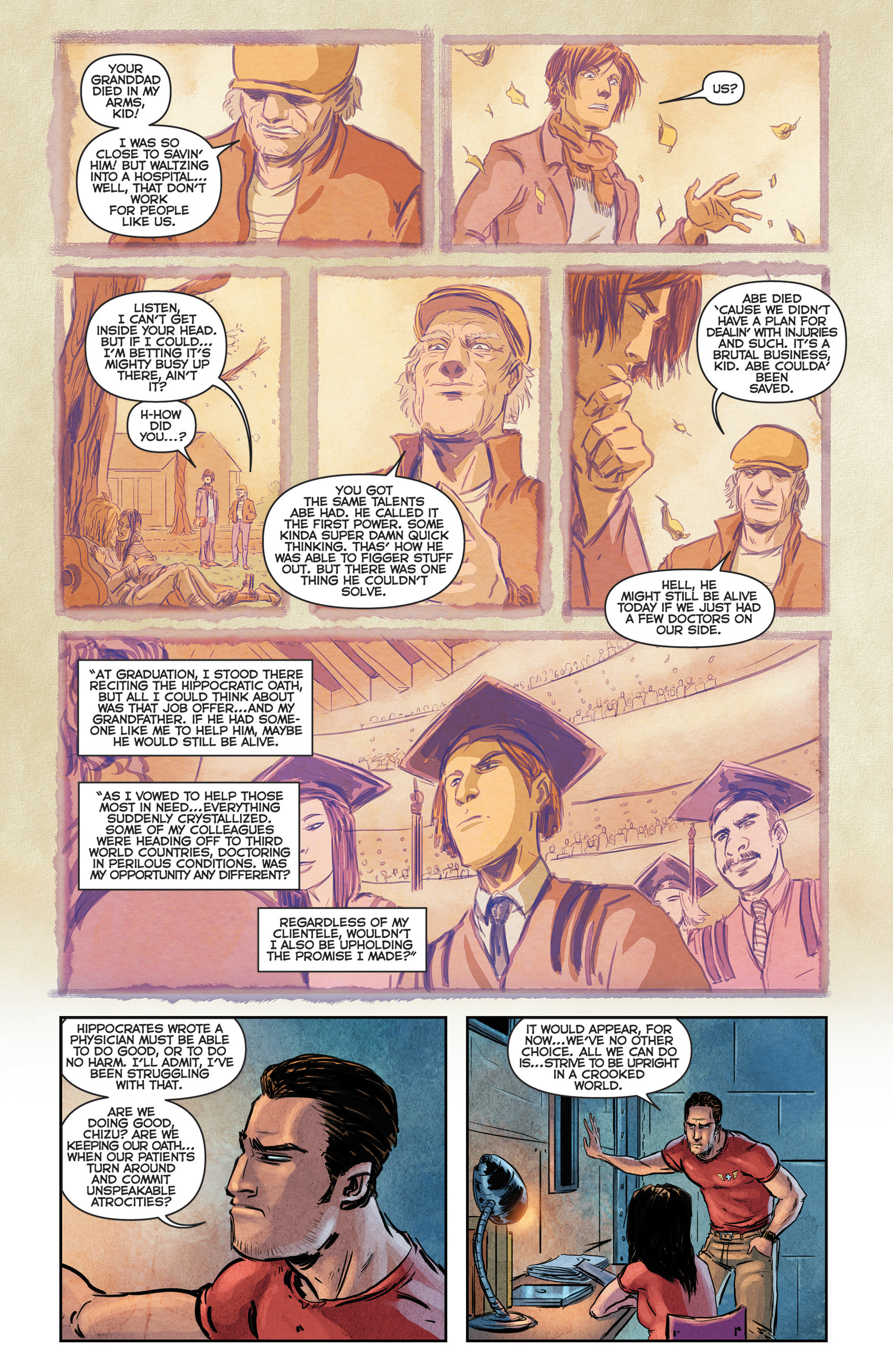 Read online Medisin comic -  Issue #1 - 19