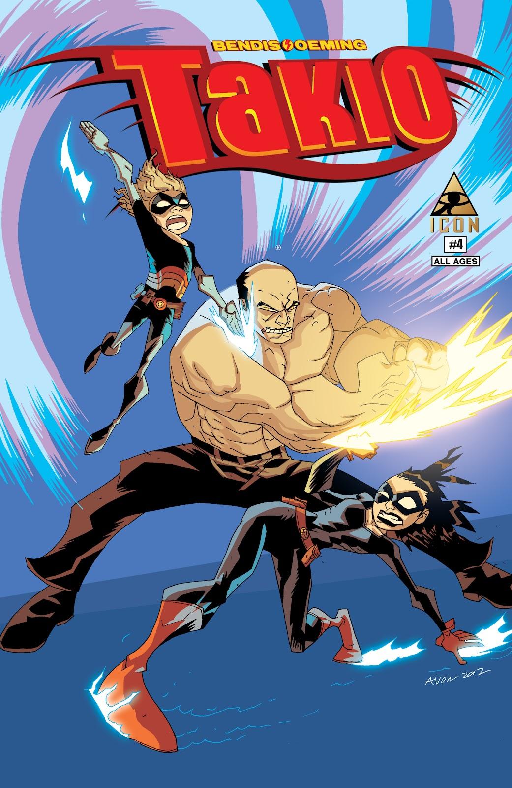 Read online Takio (2012) comic -  Issue #4 - 1