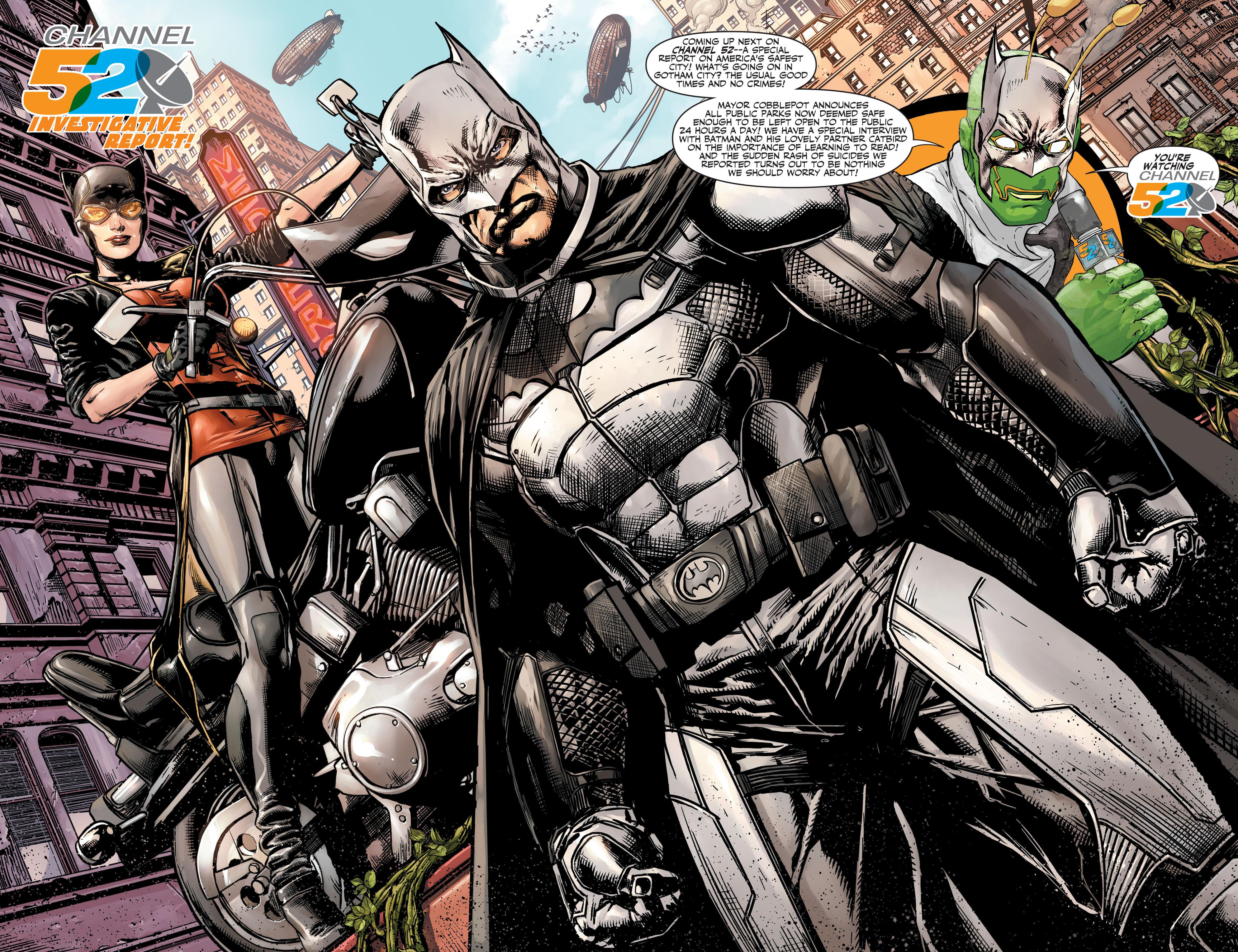 Read online Animal Man (2011) comic -  Issue #27 - 20