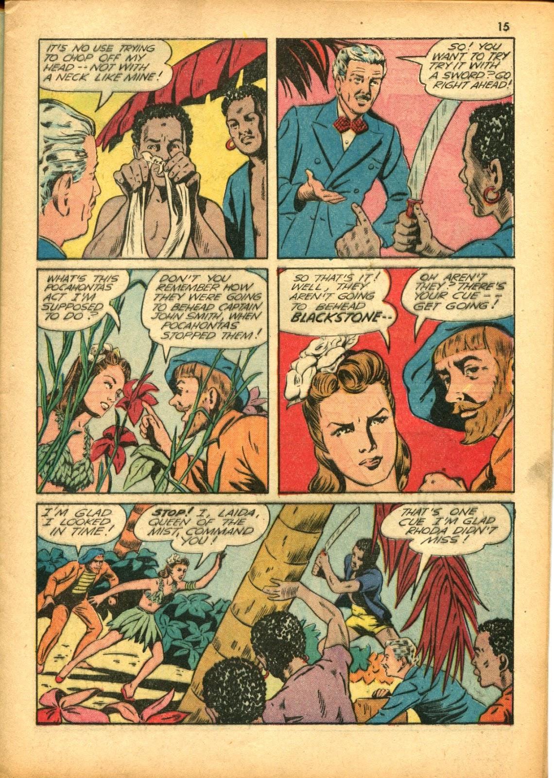 Read online Super-Magician Comics comic -  Issue #15 - 15