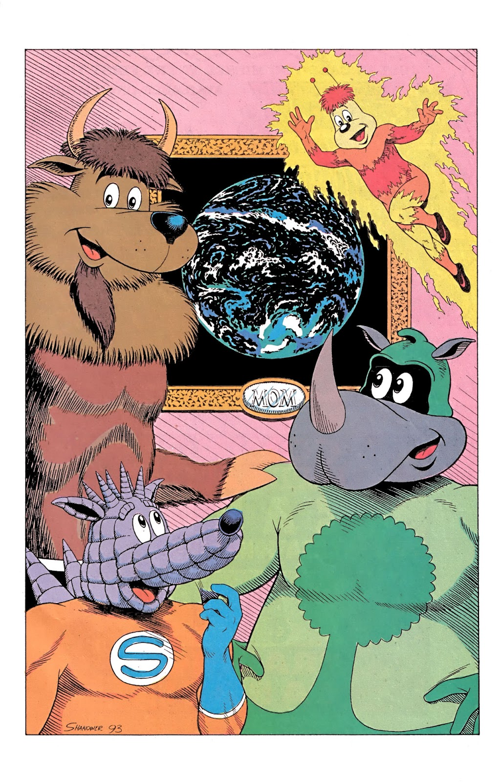 Read online Conservation Corps comic -  Issue #3 - 30