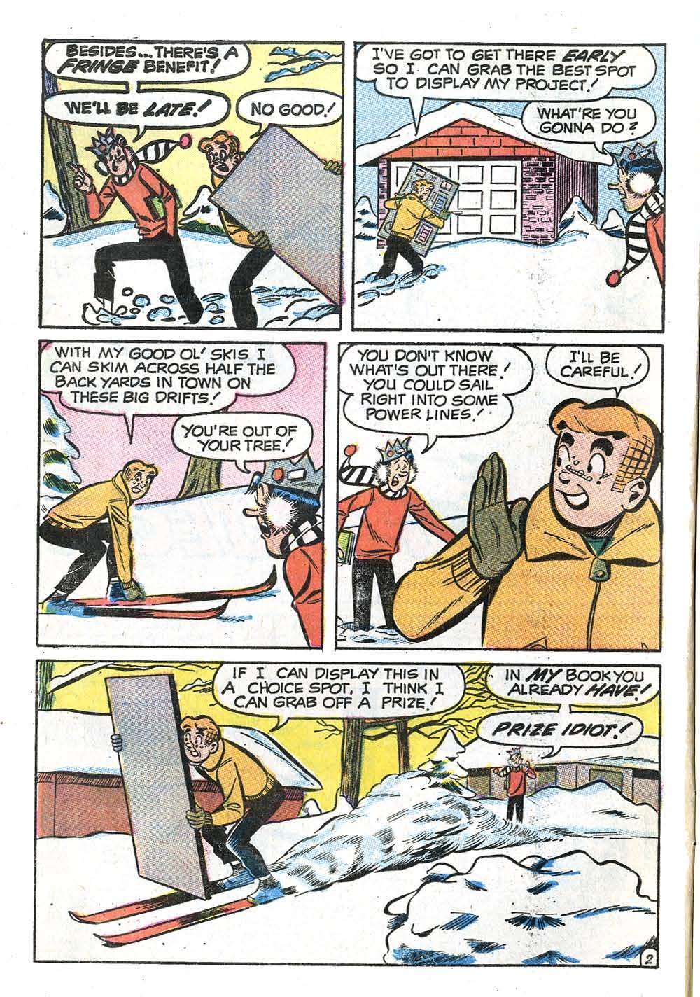 Read online Archie (1960) comic -  Issue #208 - 4