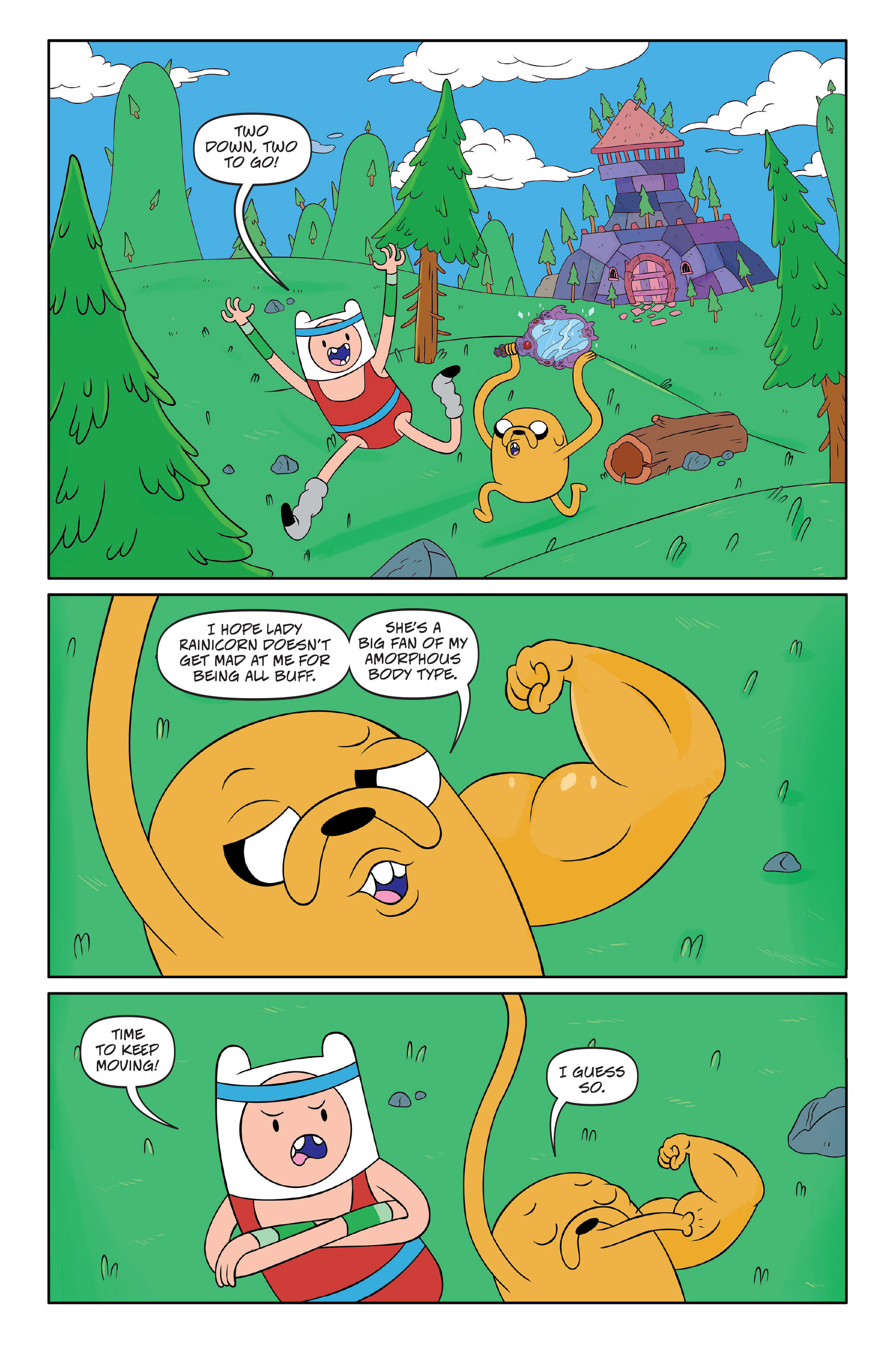 Read online Adventure Time: The Four Castles comic -  Issue #Adventure Time: The Four Castles TPB - 51