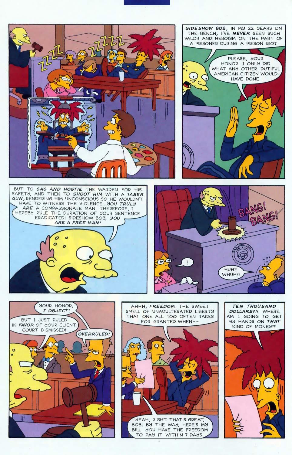 Read online Simpsons Comics comic -  Issue #46 - 3