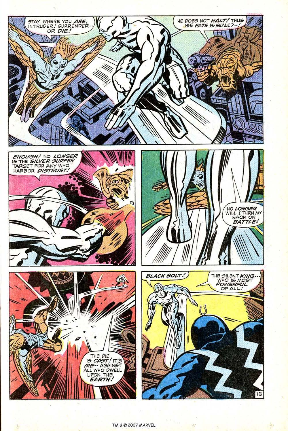 Silver Surfer (1968) issue 18 - Page 25