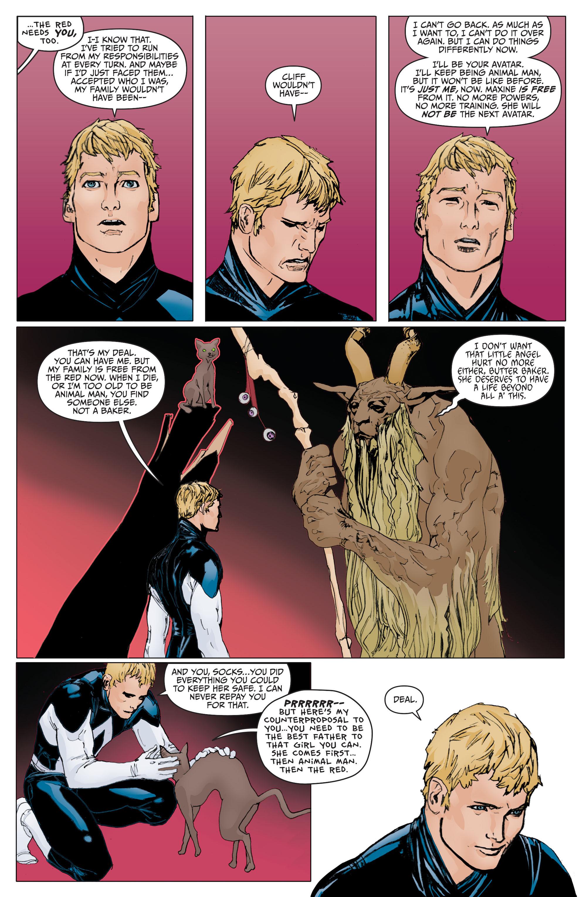 Read online Animal Man (2011) comic -  Issue #29 - 3