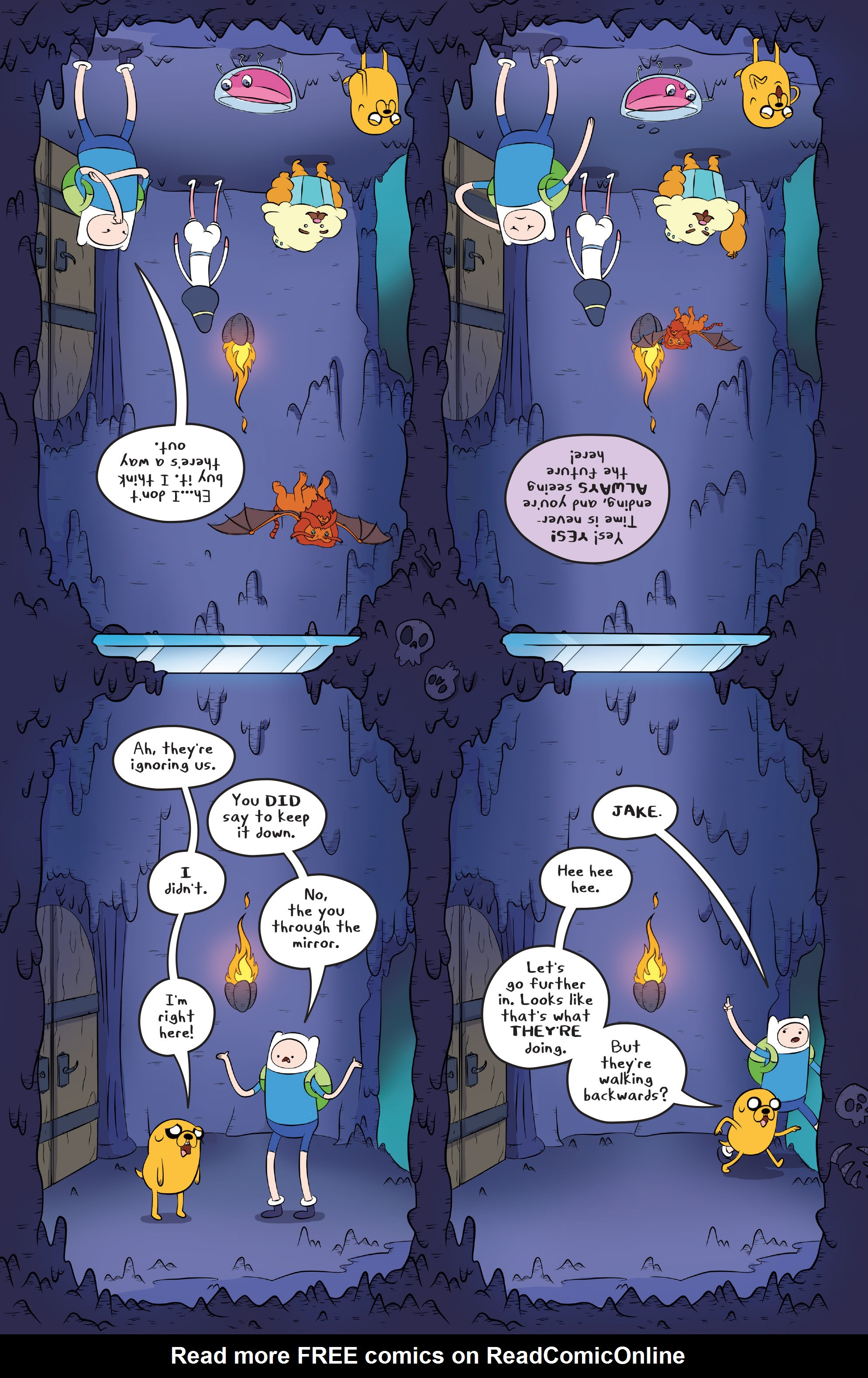Read online Adventure Time comic -  Issue #45 - 11