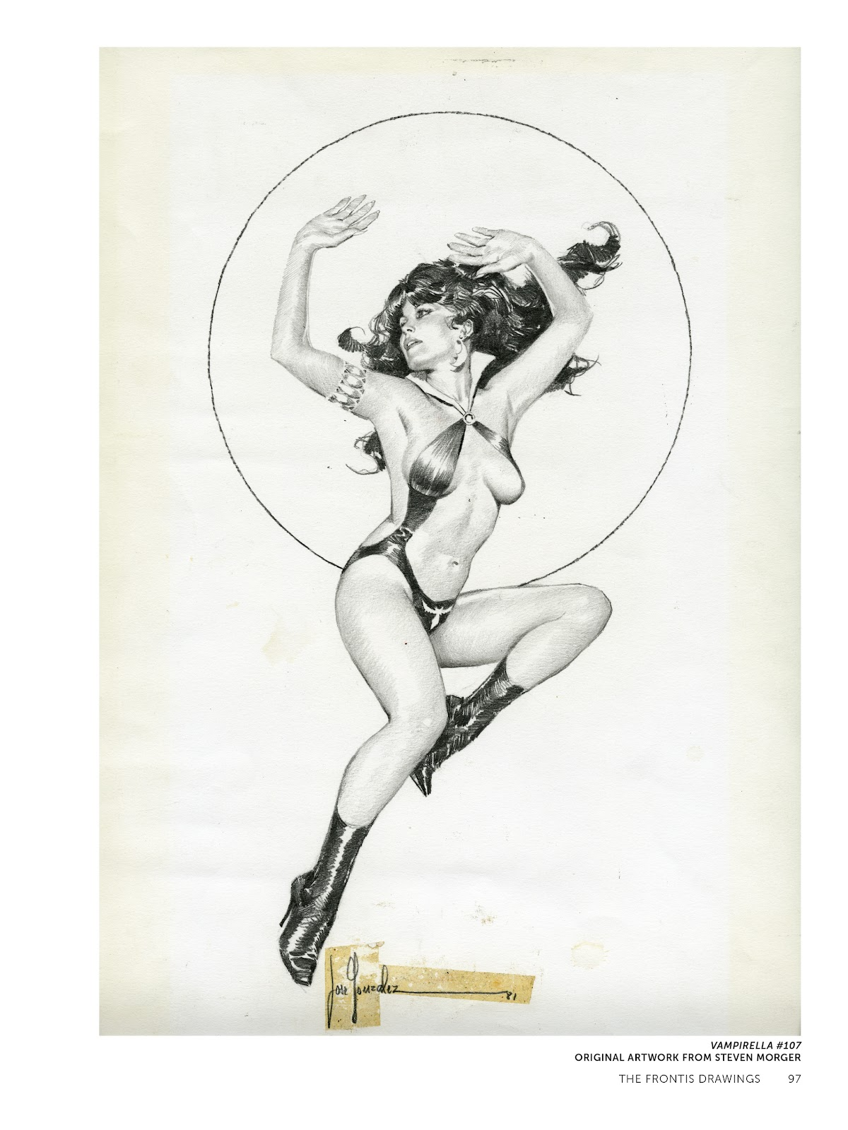 Read online The Art of Jose Gonzalez comic -  Issue # TPB (Part 1) - 98