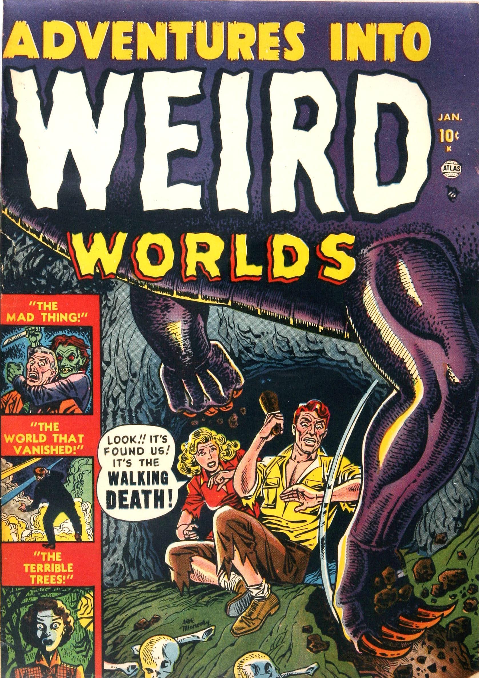 Read online Adventures into Weird Worlds comic -  Issue #1 - 1