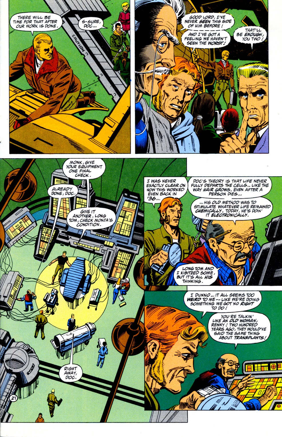 Doc Savage (1988) issue 11 - Page 23