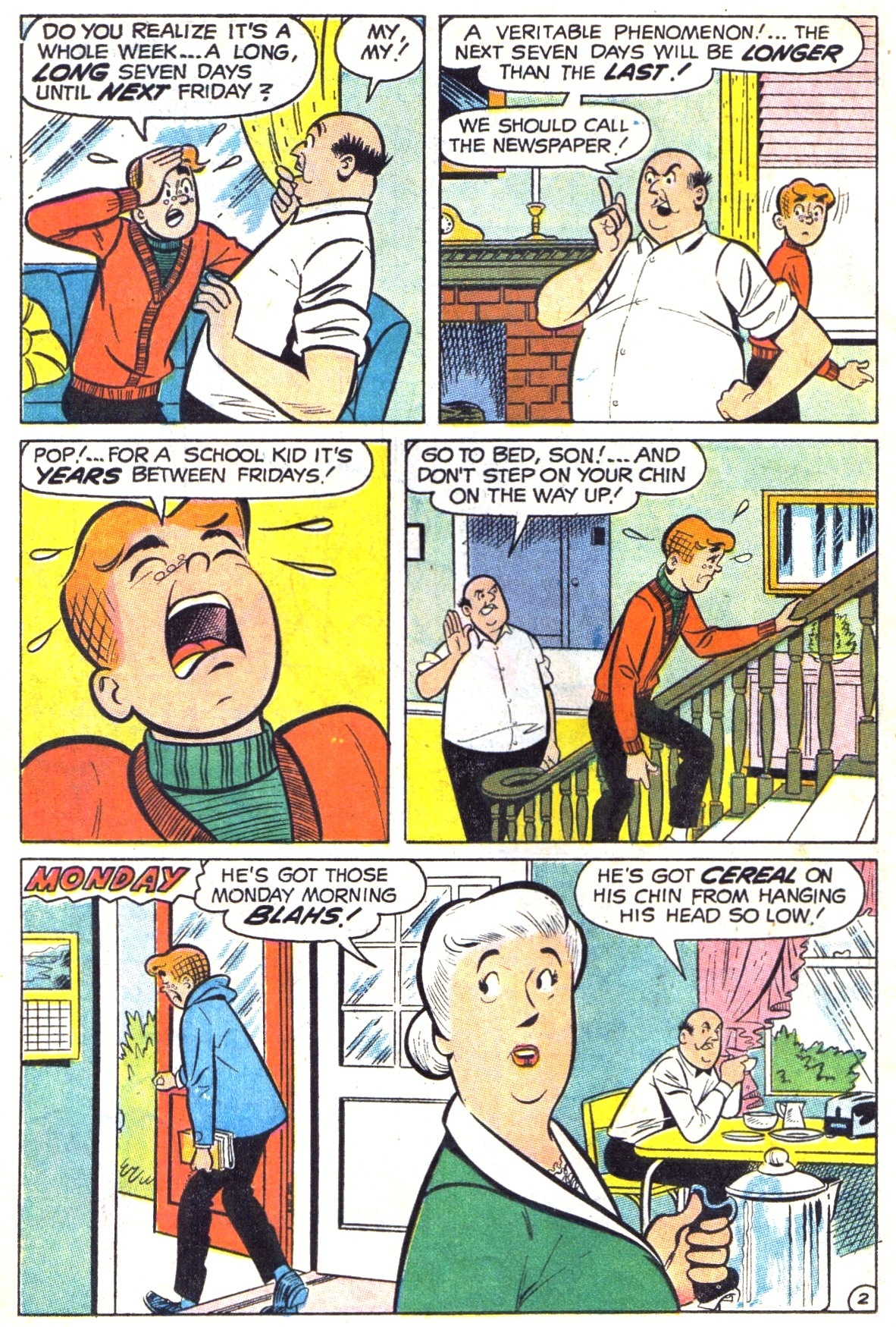 Read online Archie (1960) comic -  Issue #191 - 14