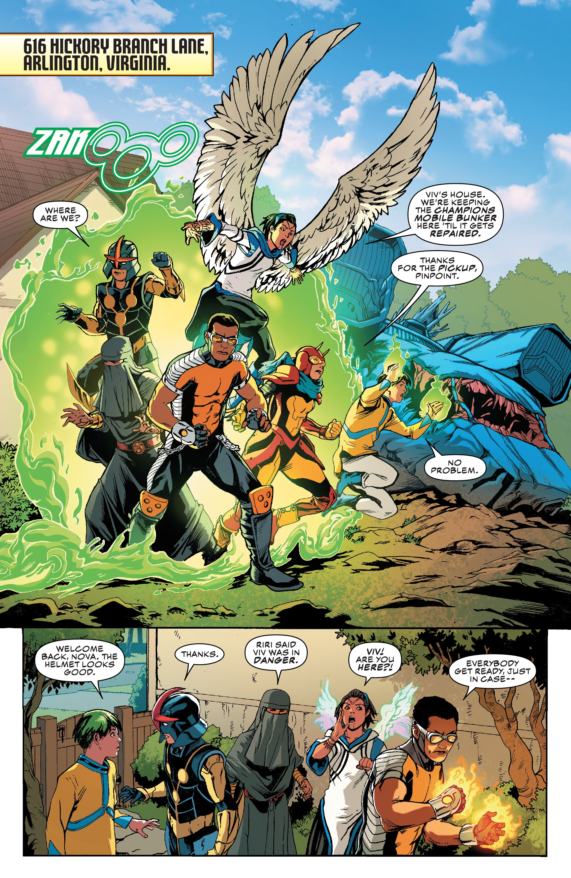 Read online Champions (2019) comic -  Issue #9 - 3