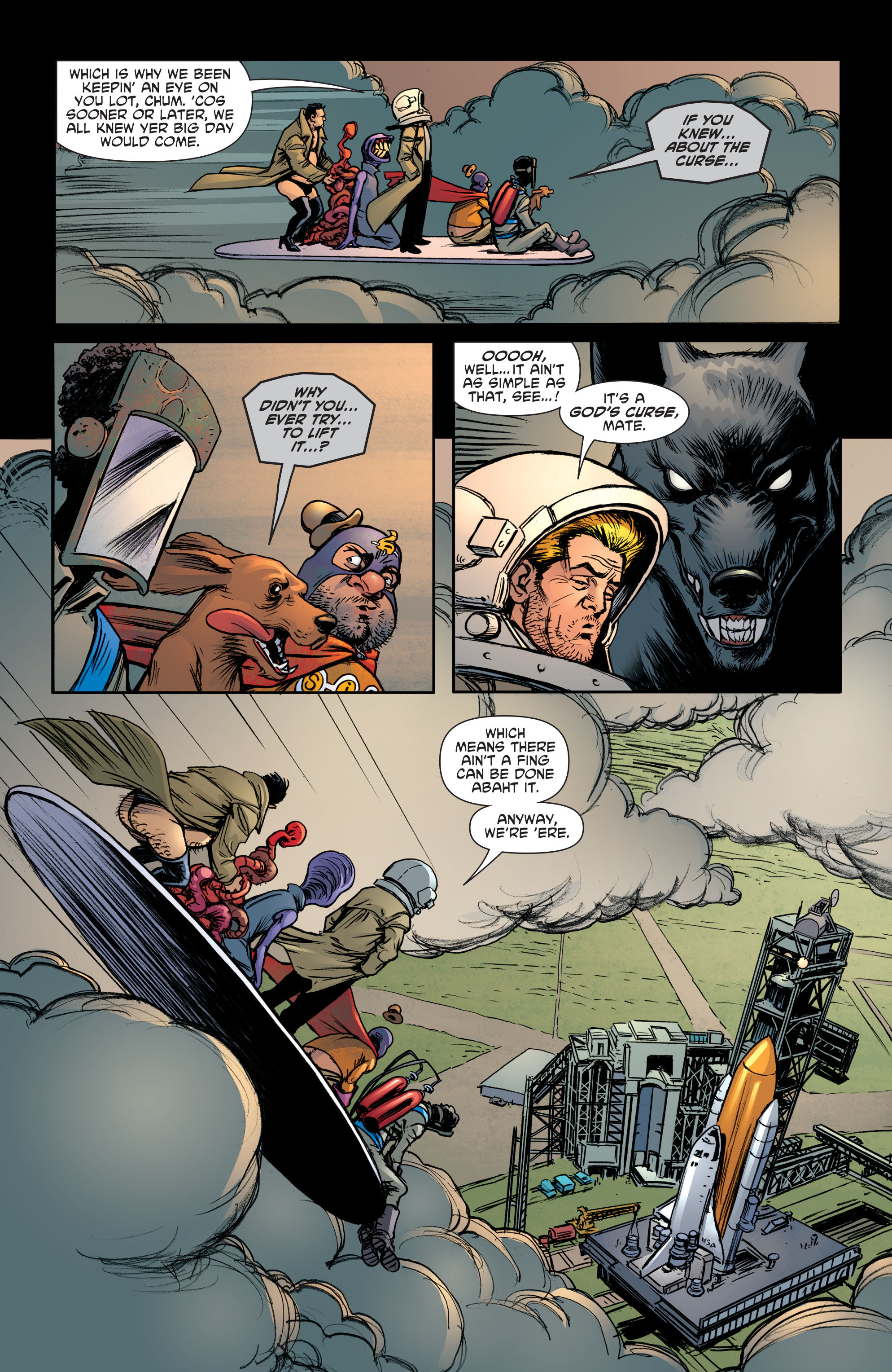 Read online Sixpack and Dogwelder: Hard Travelin' Heroz comic -  Issue #5 - 9