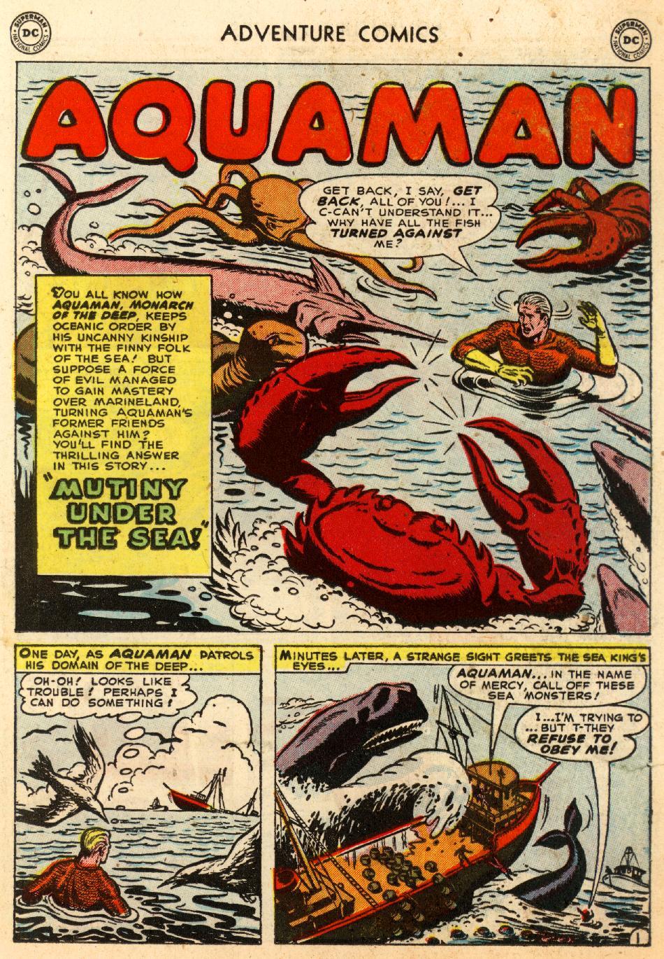 Read online Adventure Comics (1938) comic -  Issue #170 - 17